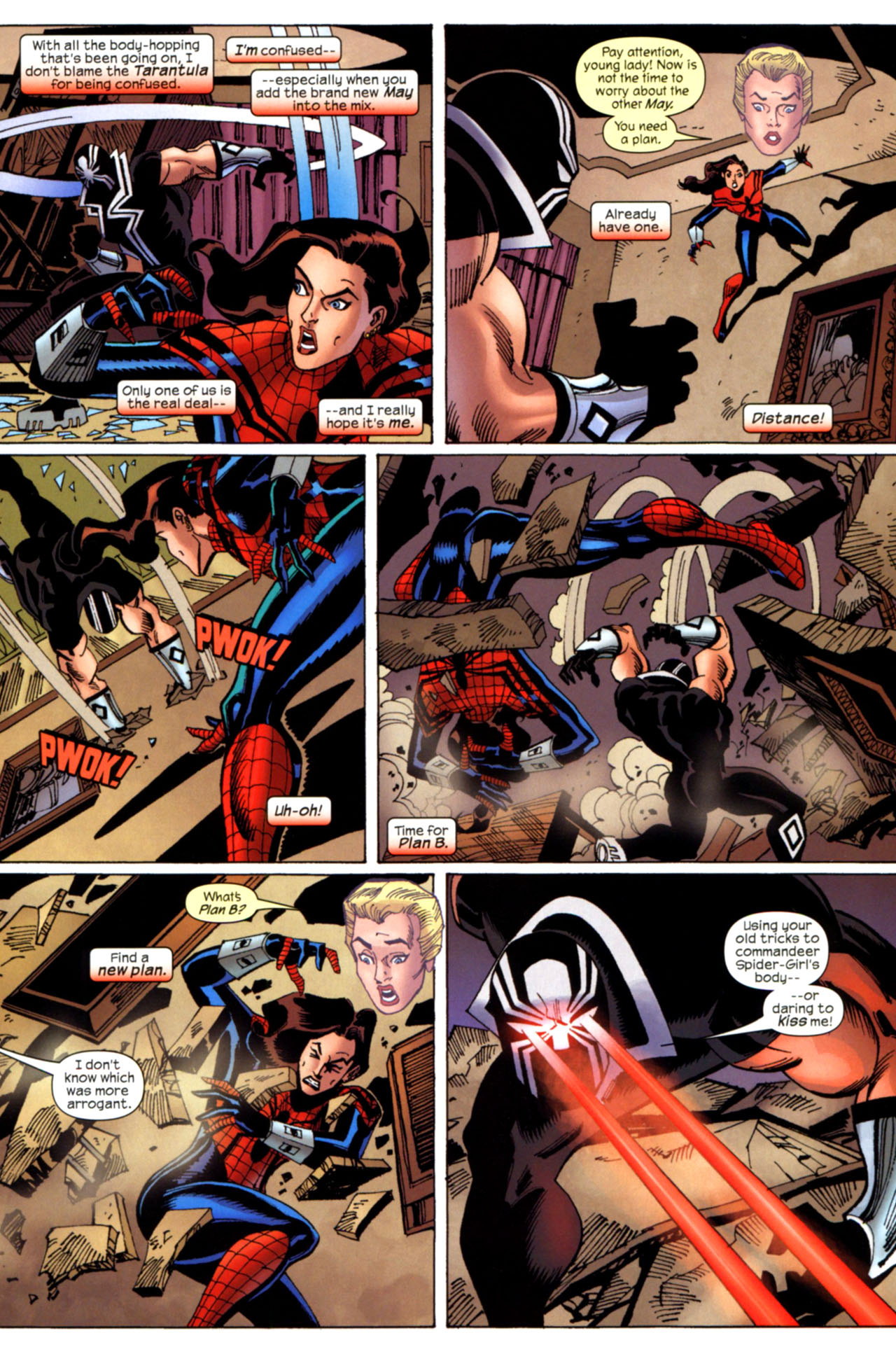 Read online Amazing Spider-Girl comic -  Issue #28 - 4