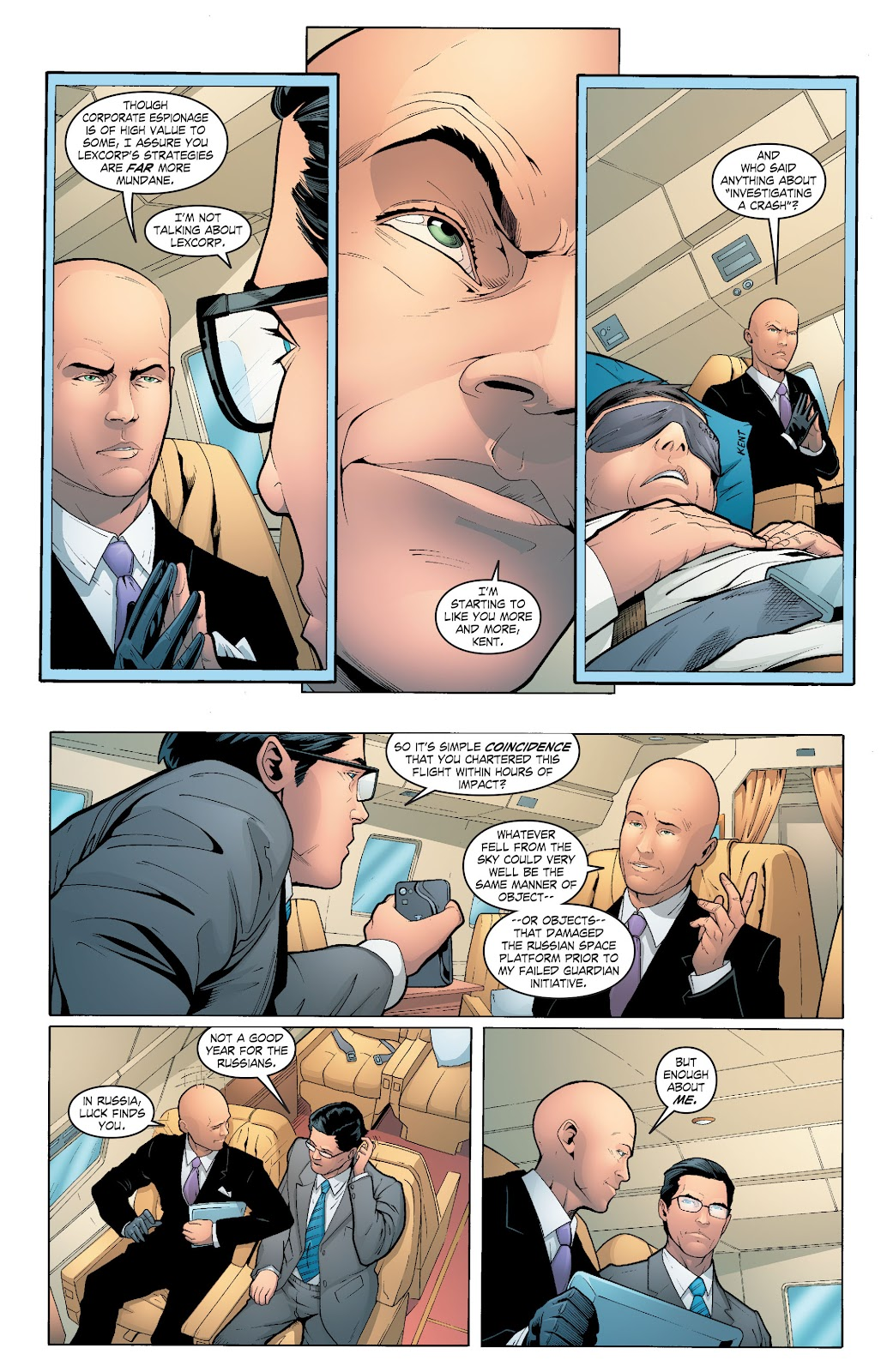 Read online Smallville Season 11 [II] comic -  Issue # TPB 6 - 72