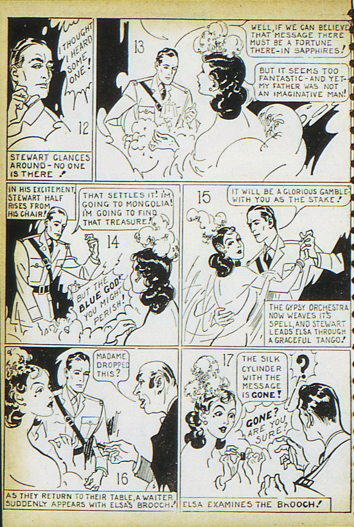 Read online Adventure Comics (1938) comic -  Issue #15 - 32