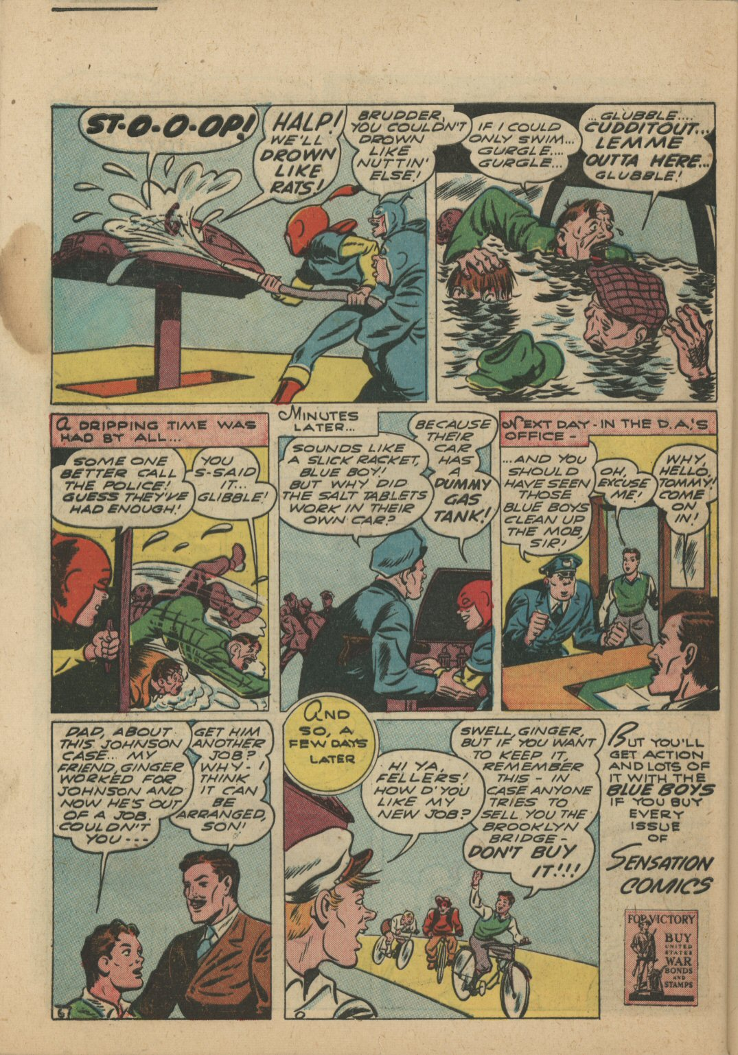 Read online Sensation (Mystery) Comics comic -  Issue #21 - 46