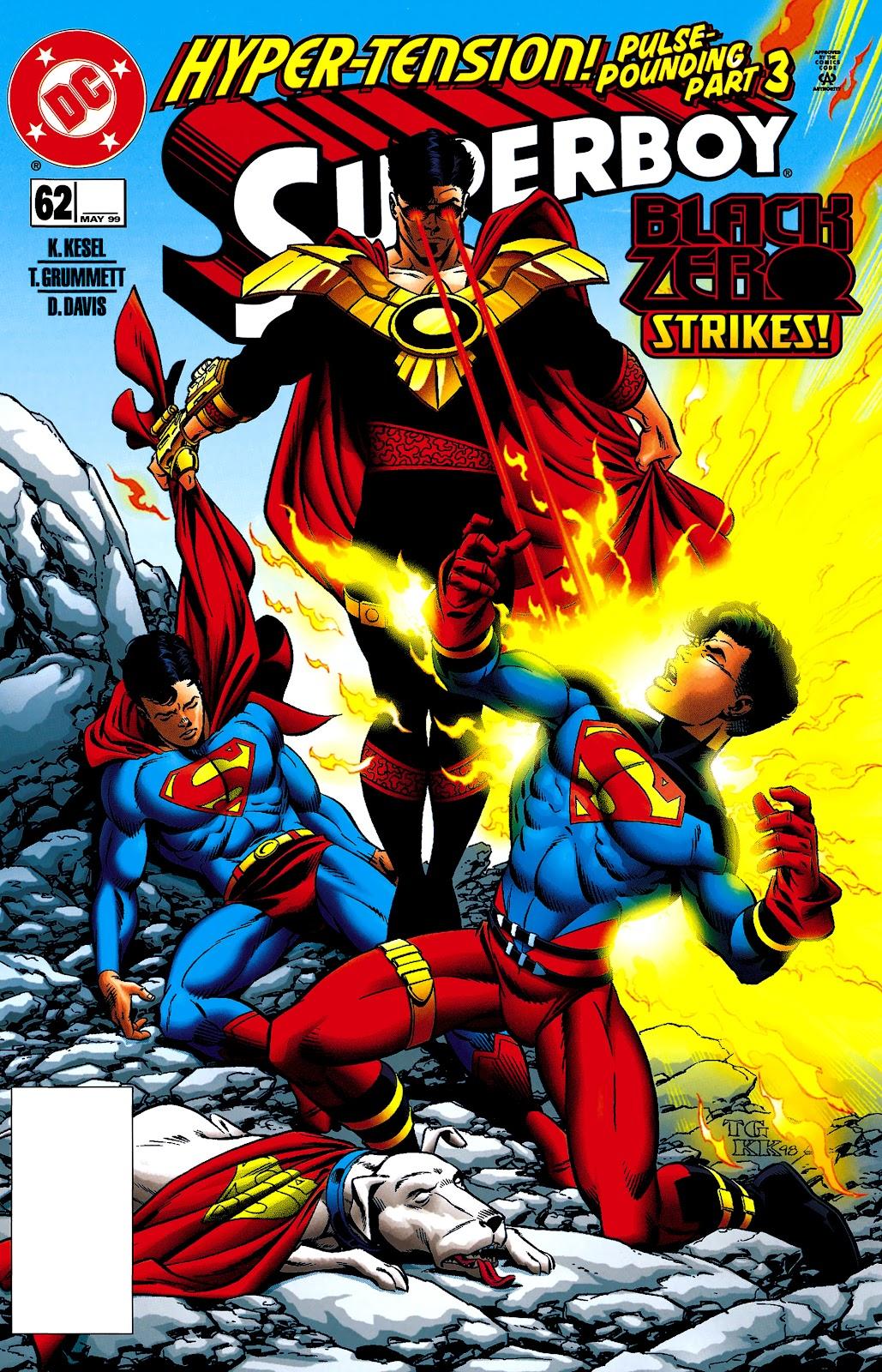 Superboy (1994) 62 Page 1