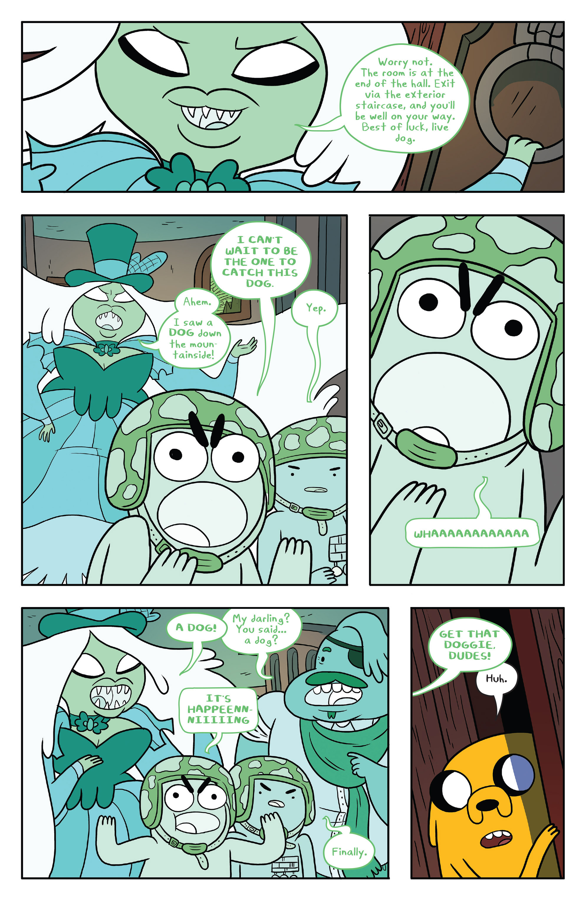 Read online Adventure Time comic -  Issue #53 - 11