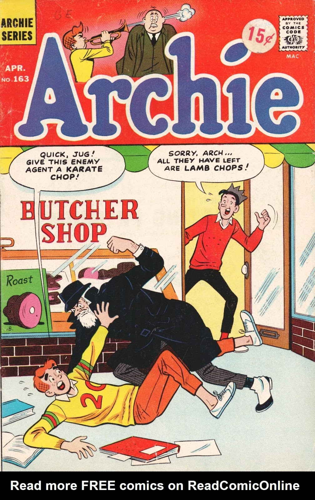 Read online Archie (1960) comic -  Issue #163 - 1