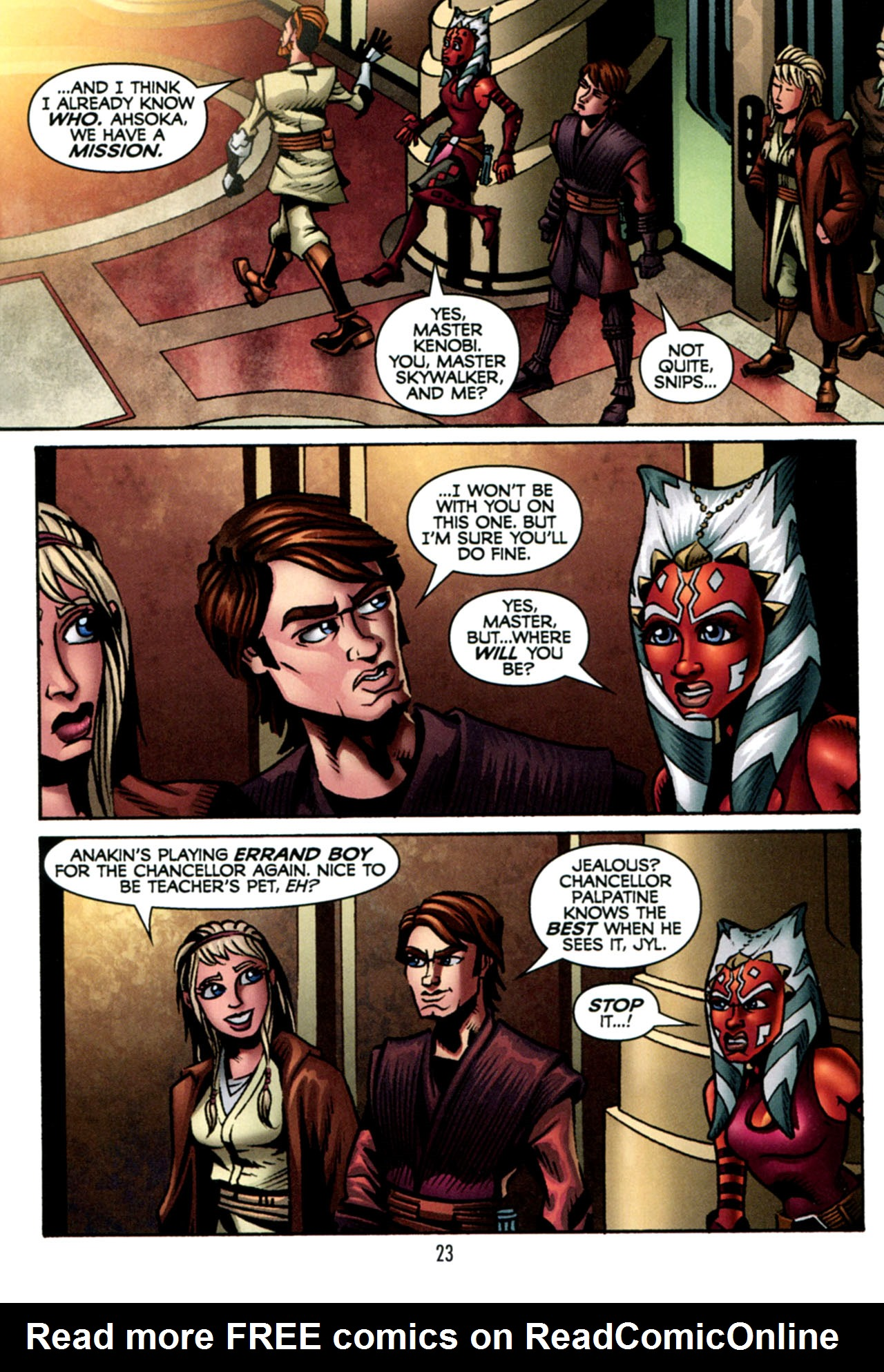 Read online Star Wars: The Clone Wars - The Starcrusher Trap comic -  Issue # Full - 24