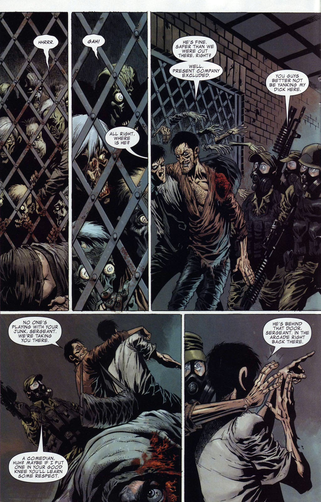 Read online Zombie (2006) comic -  Issue #4 - 5