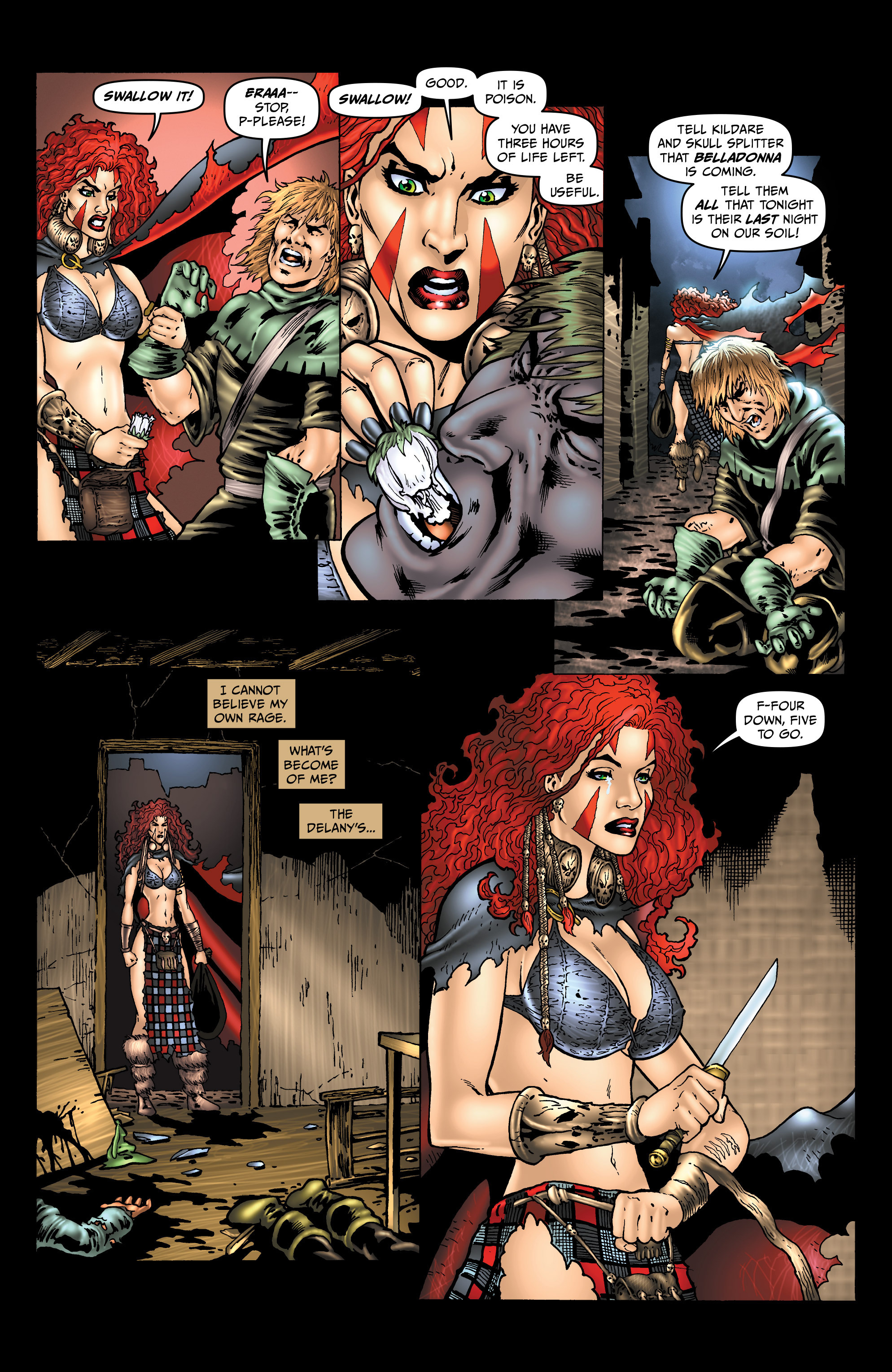 Read online Belladonna: Origins comic -  Issue #2 - 11