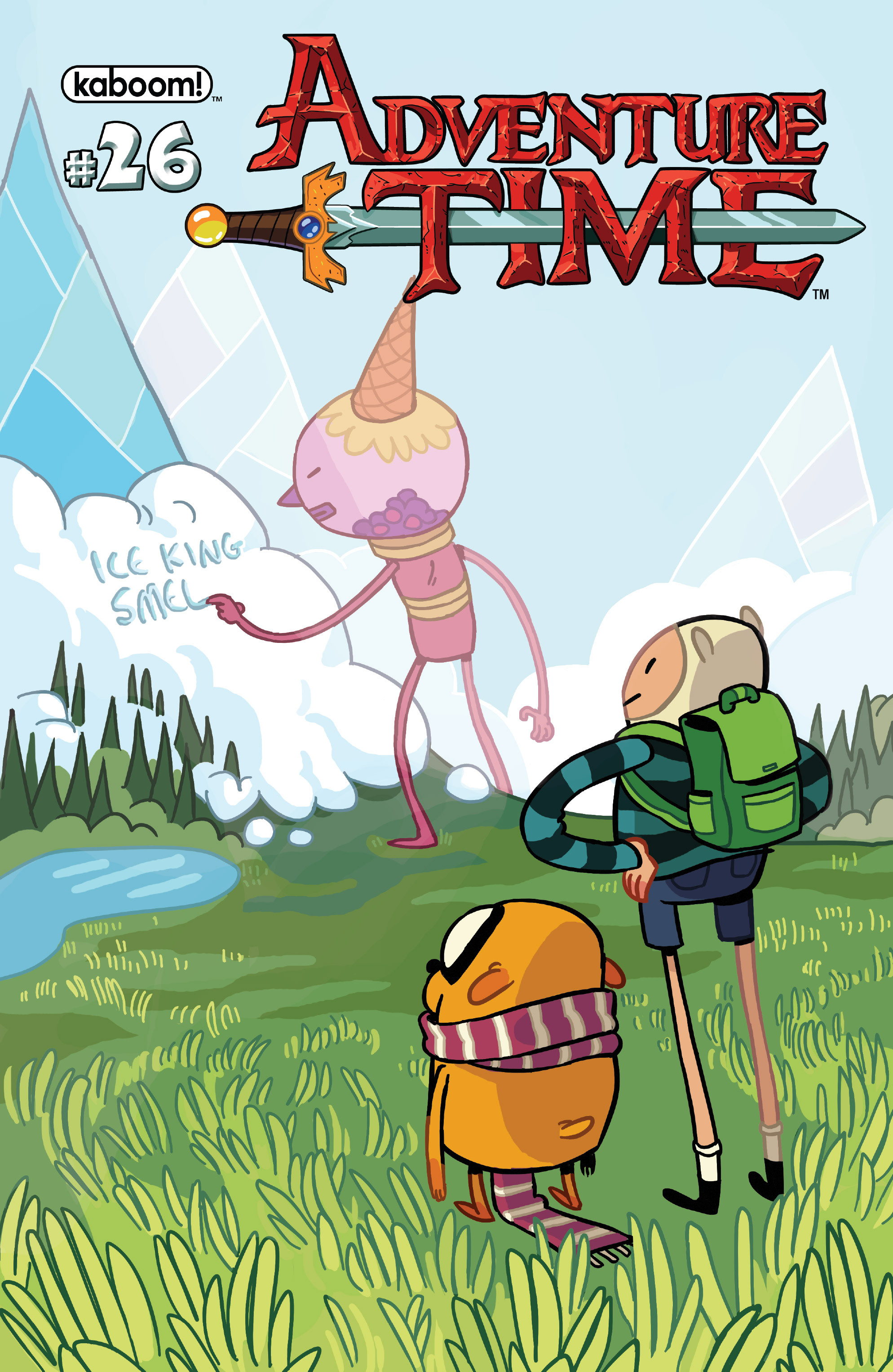 Read online Adventure Time comic -  Issue #26 - 1