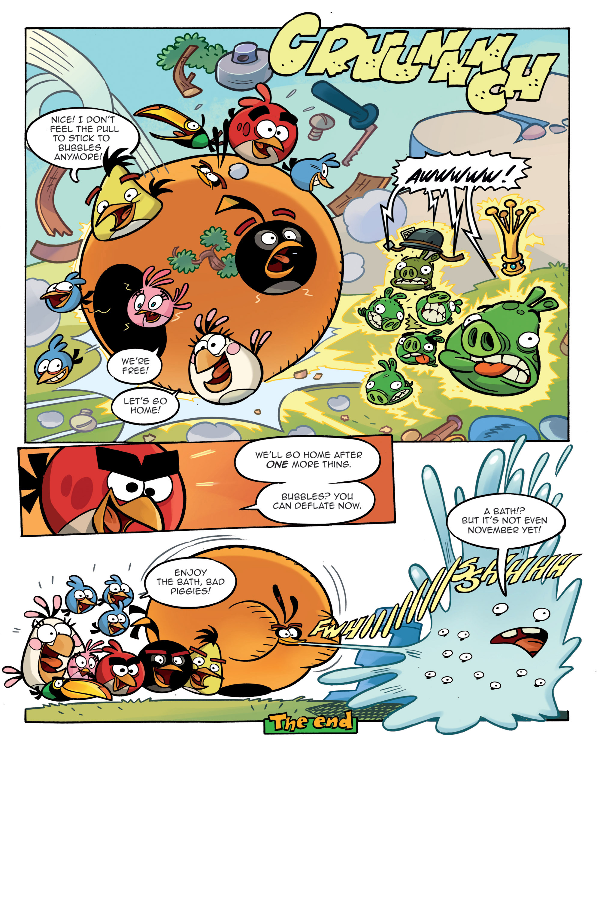 Read online Angry Birds Comics (2014) comic -  Issue #3 - 23