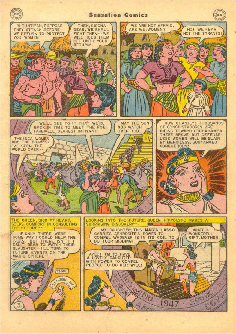 Read online Sensation (Mystery) Comics comic -  Issue #70 - 4