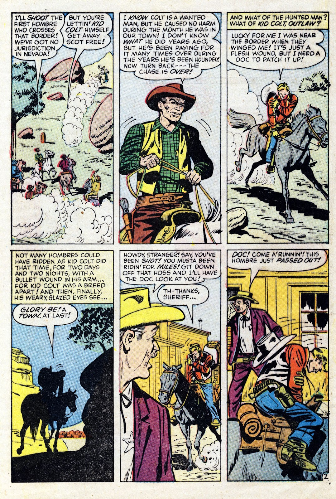 Gunsmoke Western issue 76 - Page 4