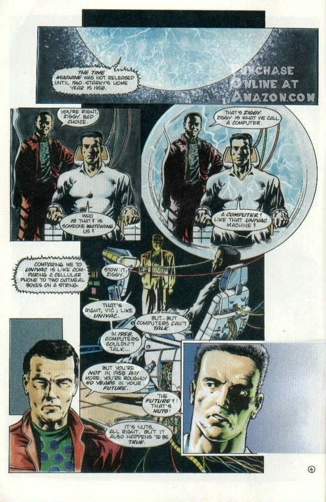 Read online Quantum Leap comic -  Issue #8 - 5