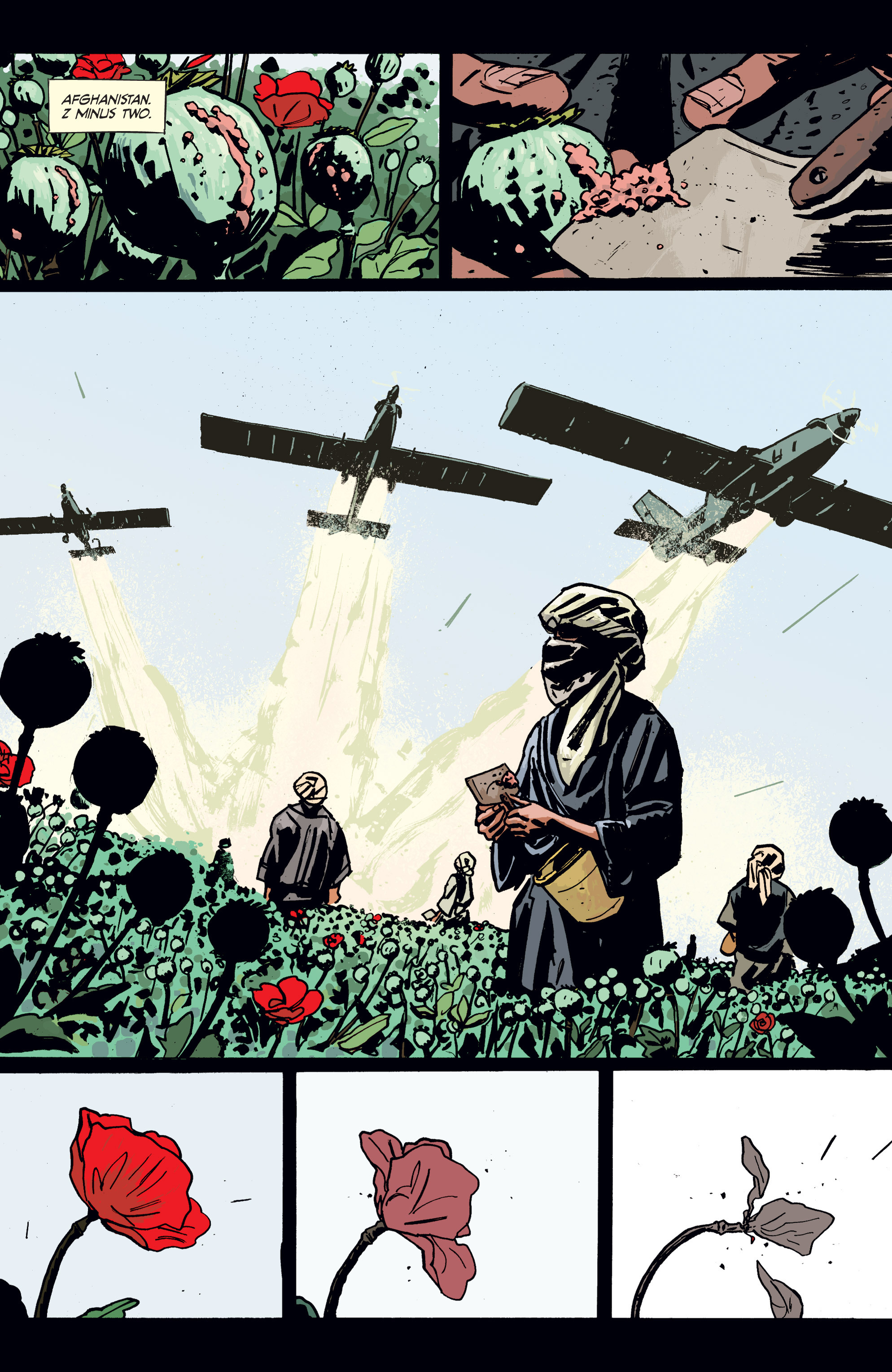 Read online Graveyard of Empires comic -  Issue # TPB - 9