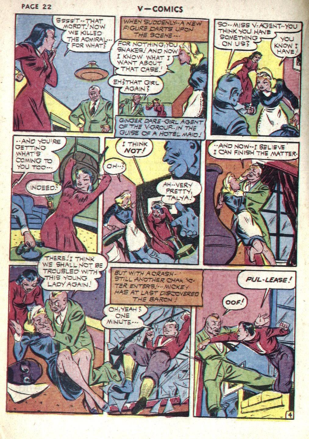 Read online V...- Comics comic -  Issue #1 - 24