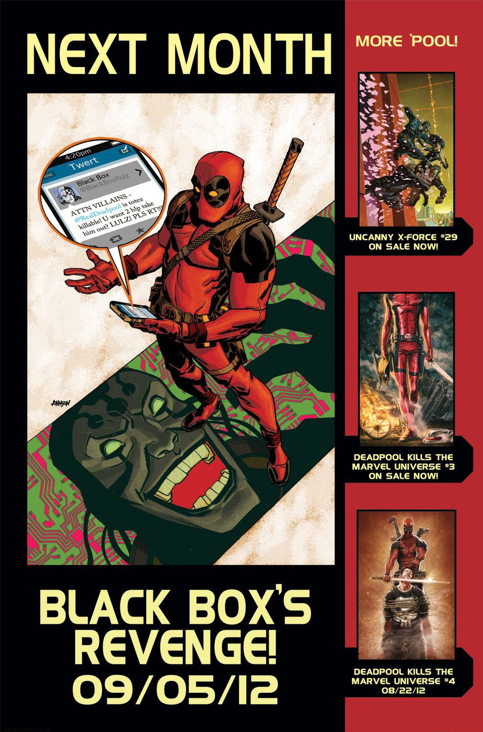 Read online Deadpool (2008) comic -  Issue #59 - 21