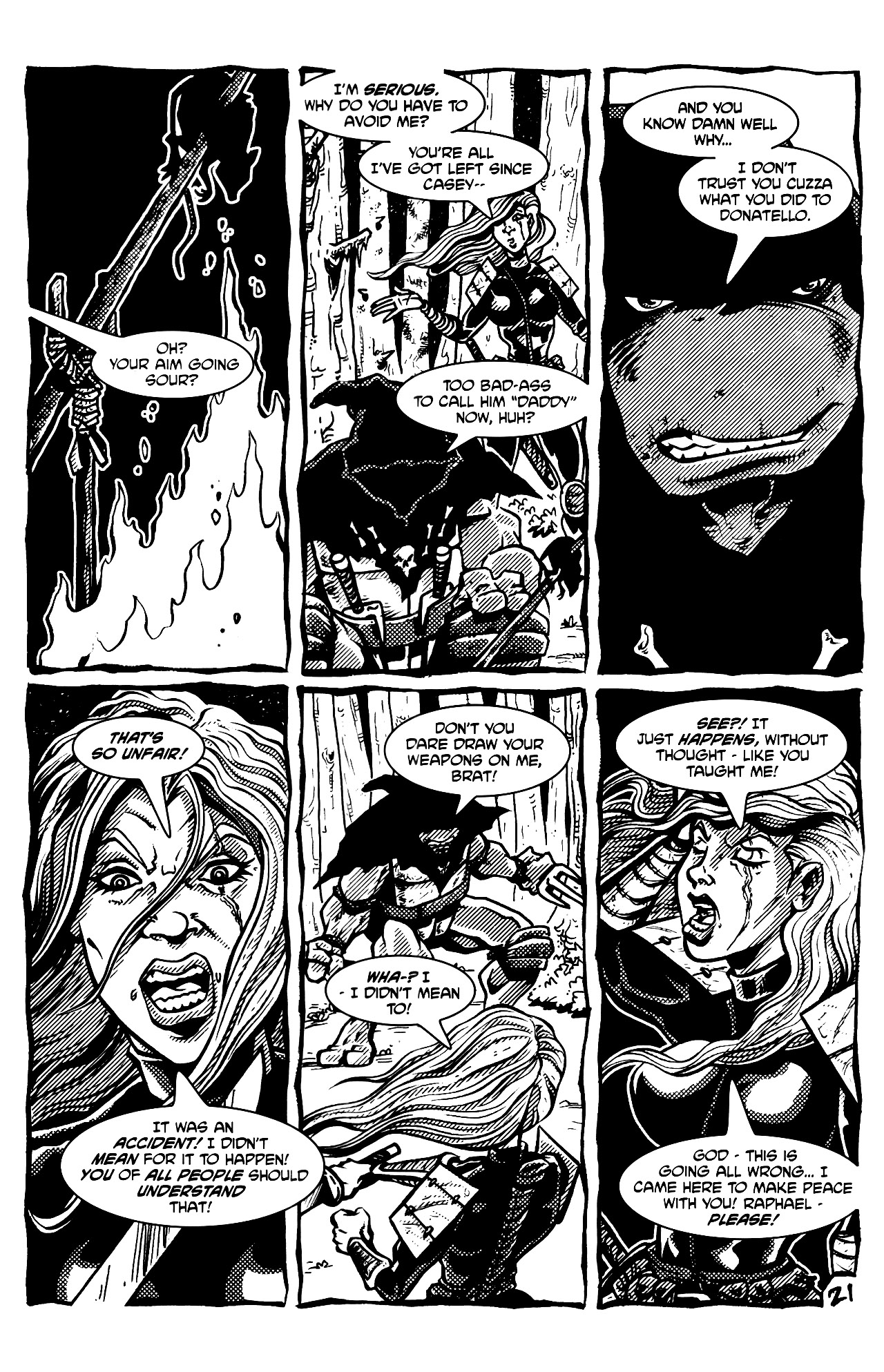 Read online Tales of the TMNT comic -  Issue #69 - 24
