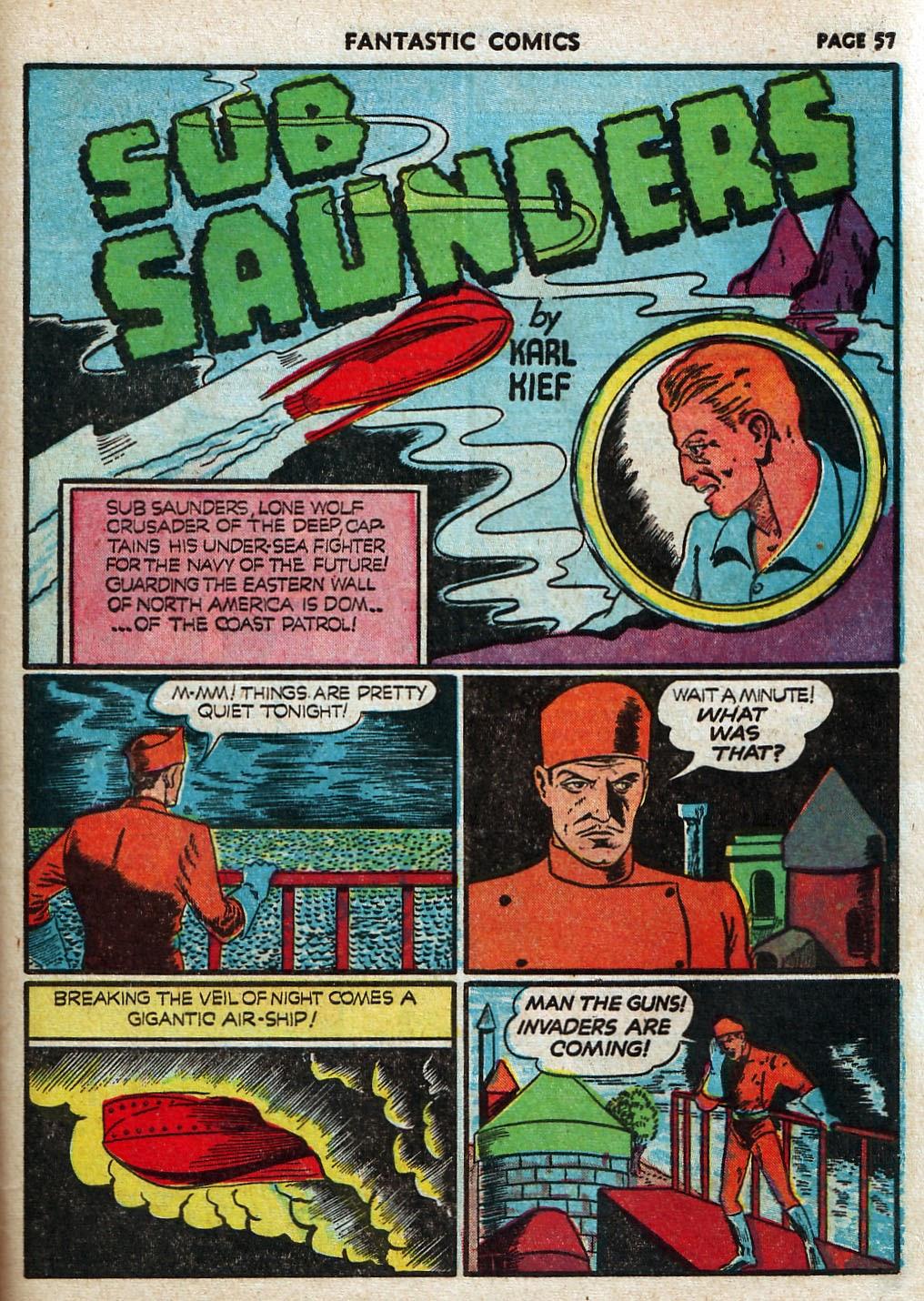 Read online Fantastic Comics comic -  Issue #17 - 58