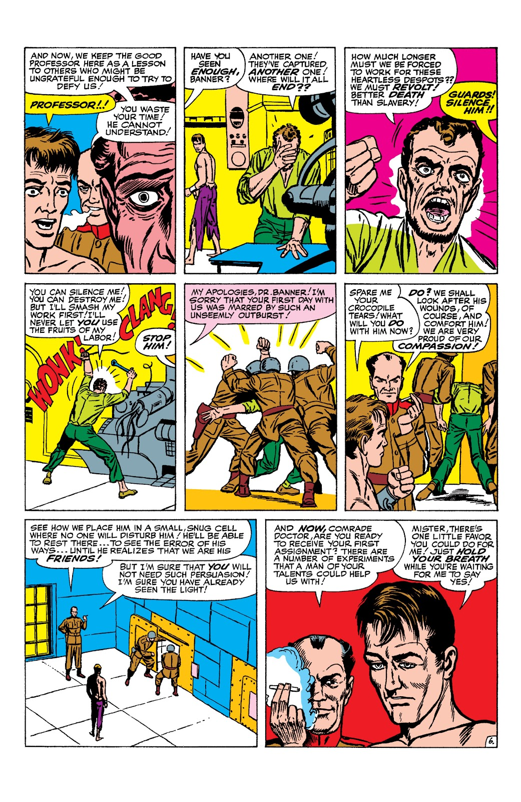 Read online Marvel Masterworks: The Incredible Hulk comic -  Issue # TPB 2 (Part 1) - 85