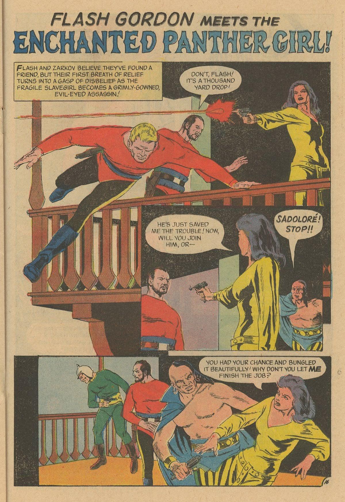 Flash Gordon (1969) issue 12 - Page 21