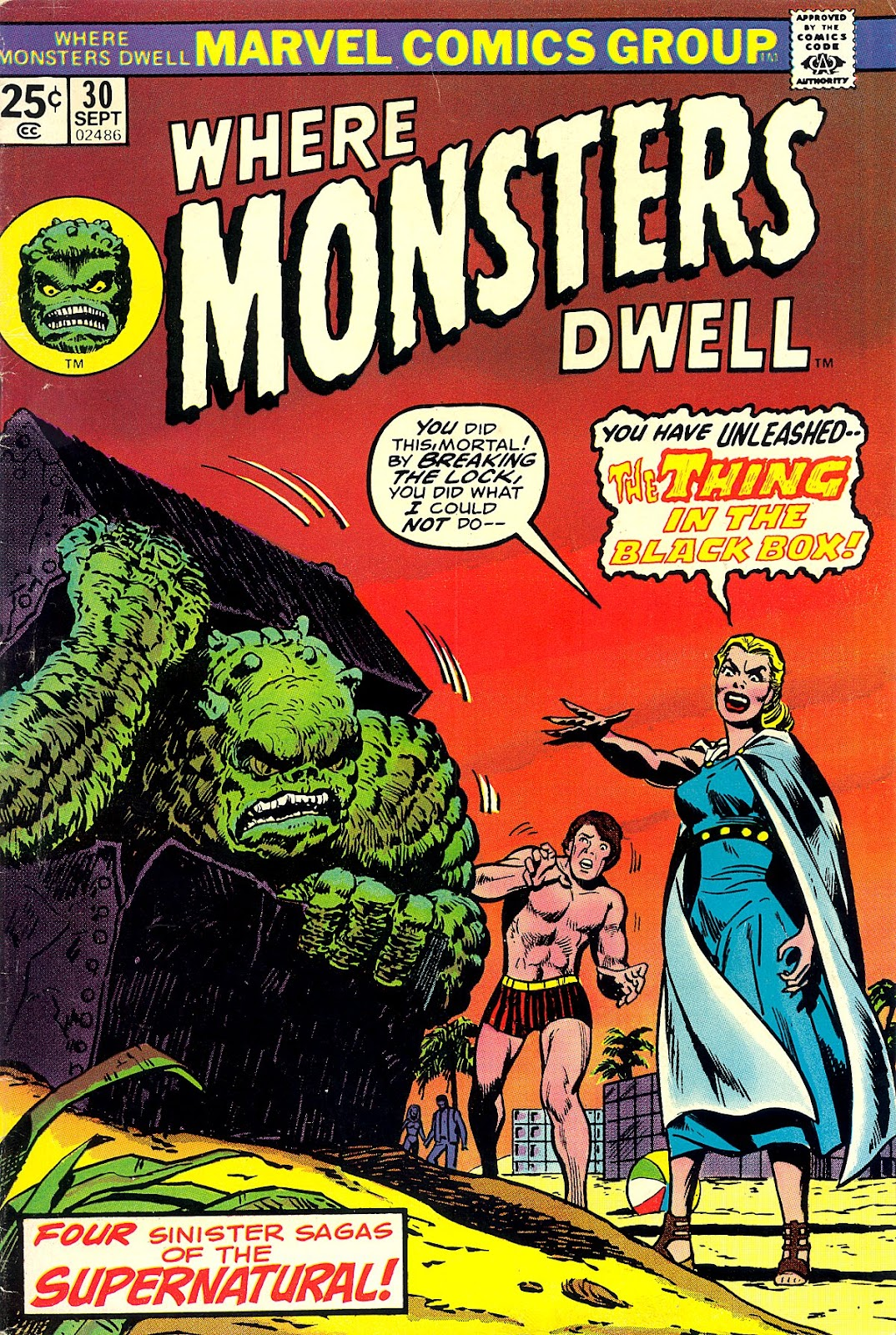Where Monsters Dwell (1970) issue 30 - Page 1