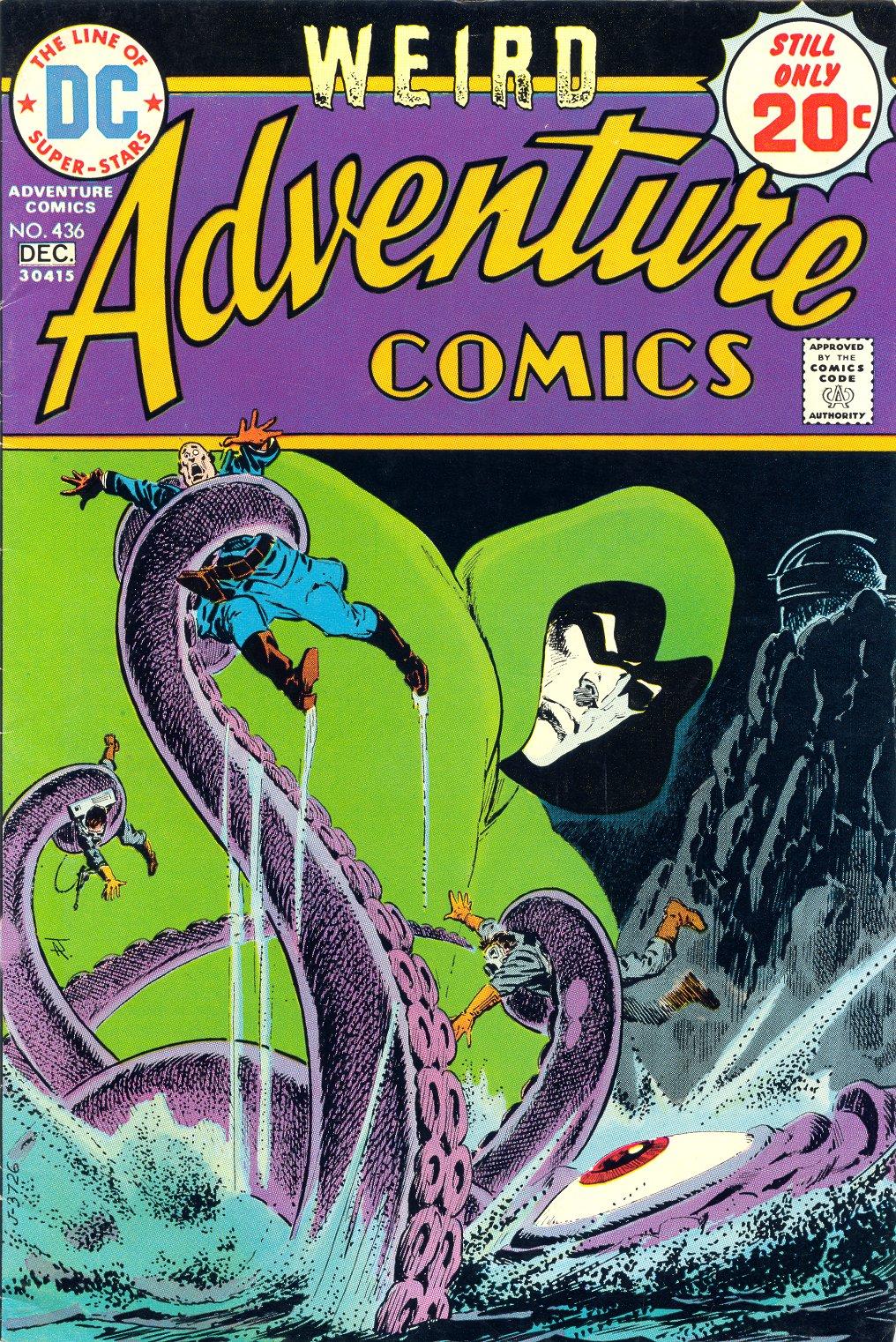 Read online Adventure Comics (1938) comic -  Issue #436 - 1