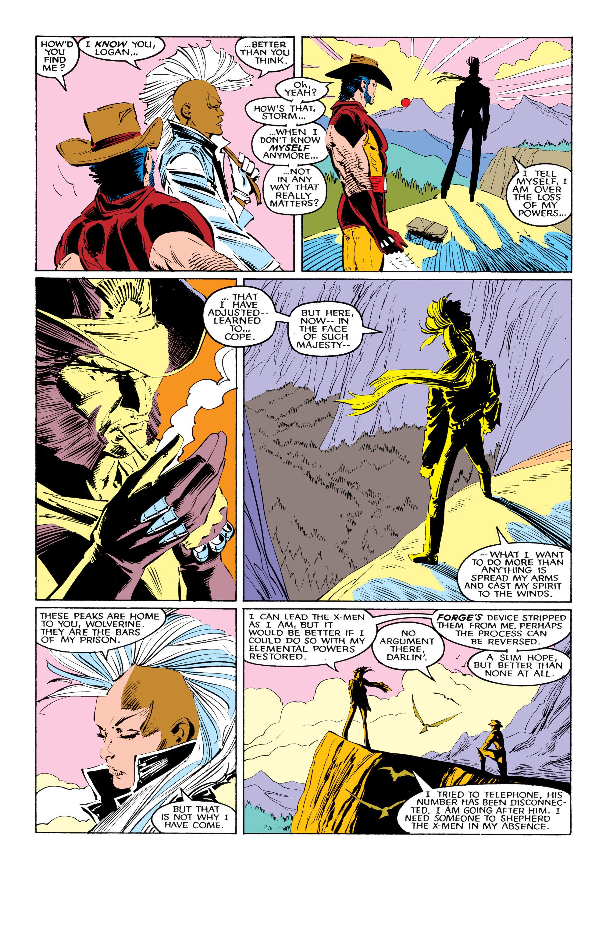 Read online Uncanny X-Men (1963) comic -  Issue #220 - 6