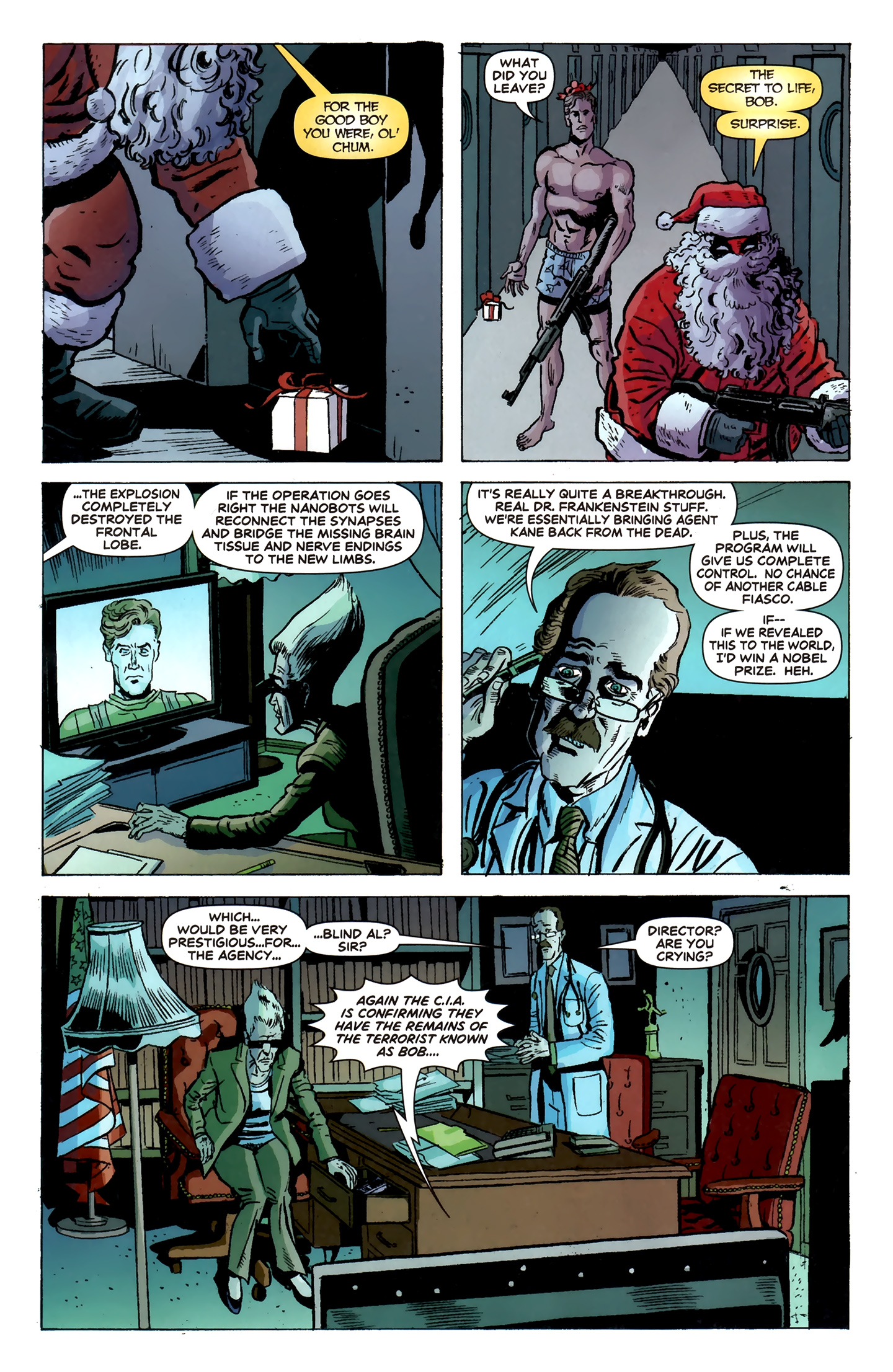 Read online Deadpool MAX X-Mas Special comic -  Issue # Full - 9