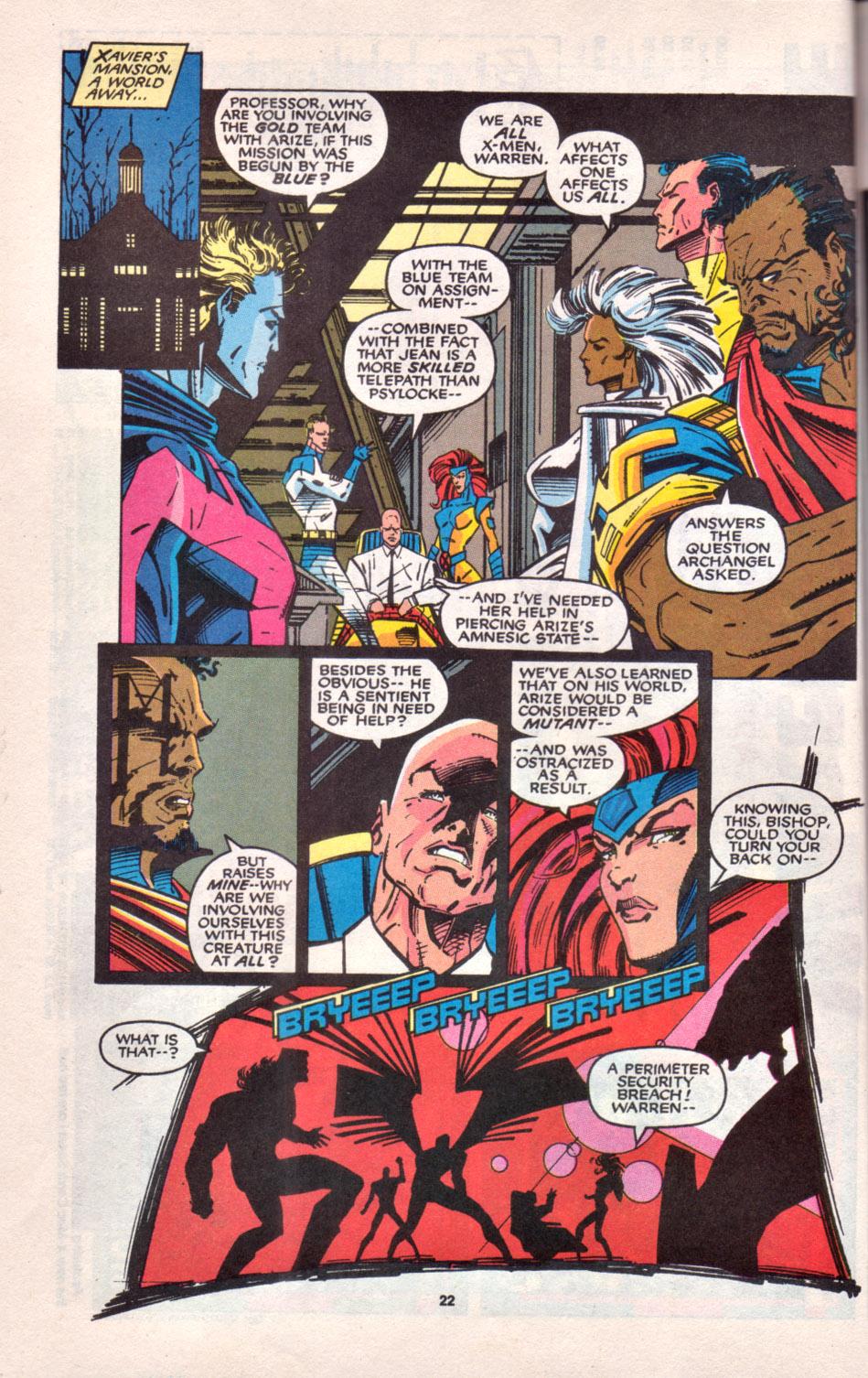 Read online Uncanny X-Men (1963) comic -  Issue # _Annual 16 - 19