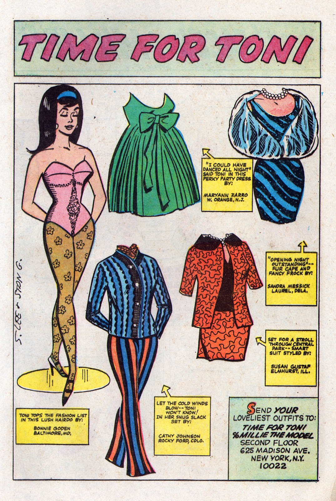 Read online Millie the Model comic -  Issue # Annual 6 - 25