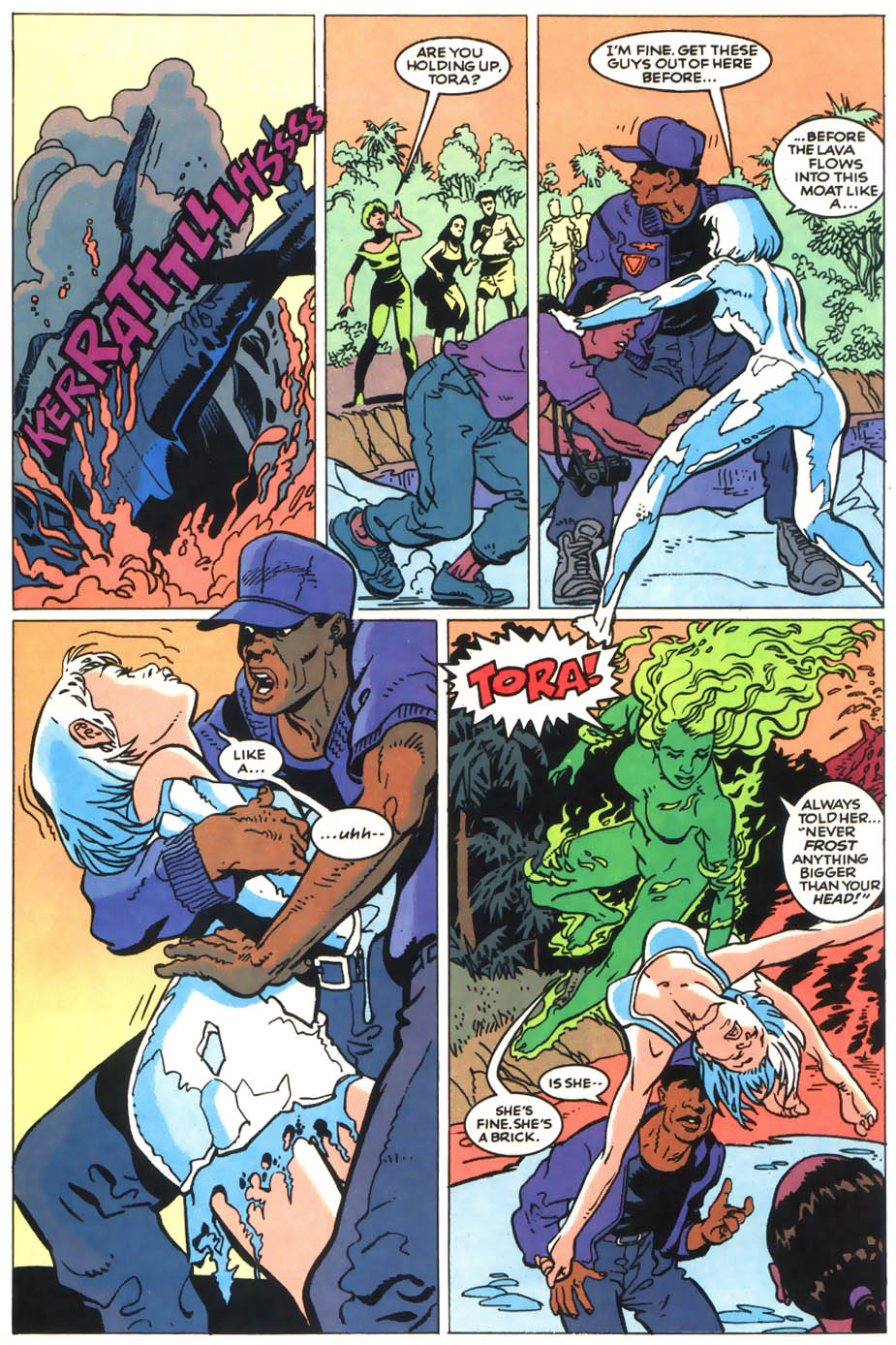Read online Showcase '93 comic -  Issue #8 - 38