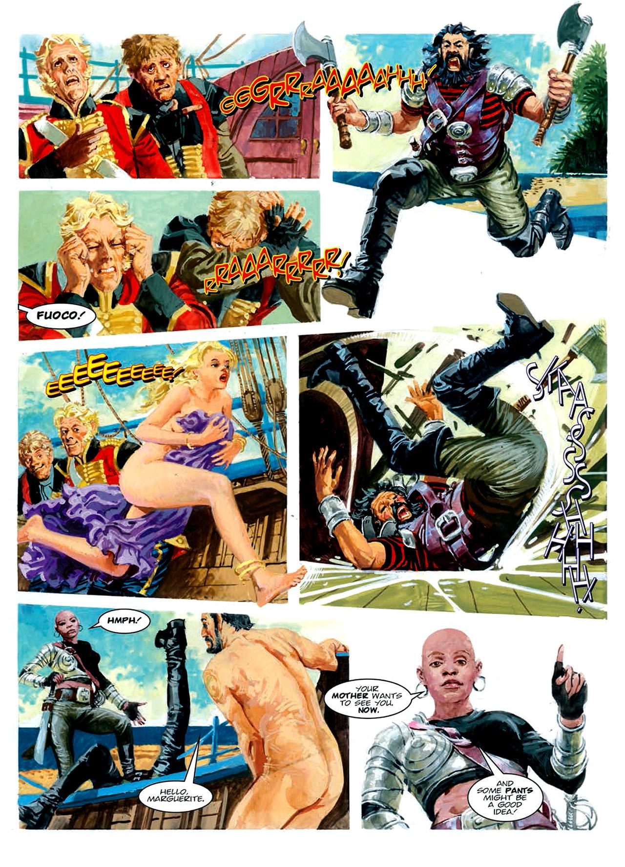 Read online Nikolai Dante comic -  Issue # TPB 6 - 152