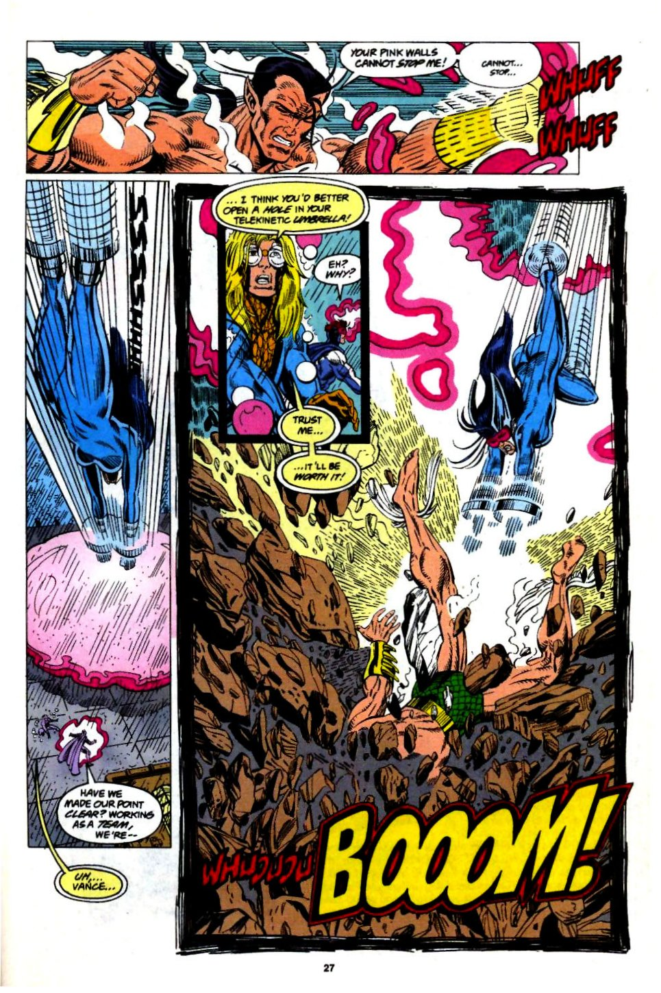 The New Warriors Issue #57 #61 - English 21