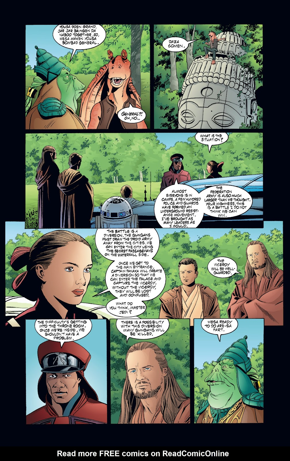 Read online Star Wars Legends: Rise of the Sith - Epic Collection comic -  Issue # TPB 2 (Part 4) - 14