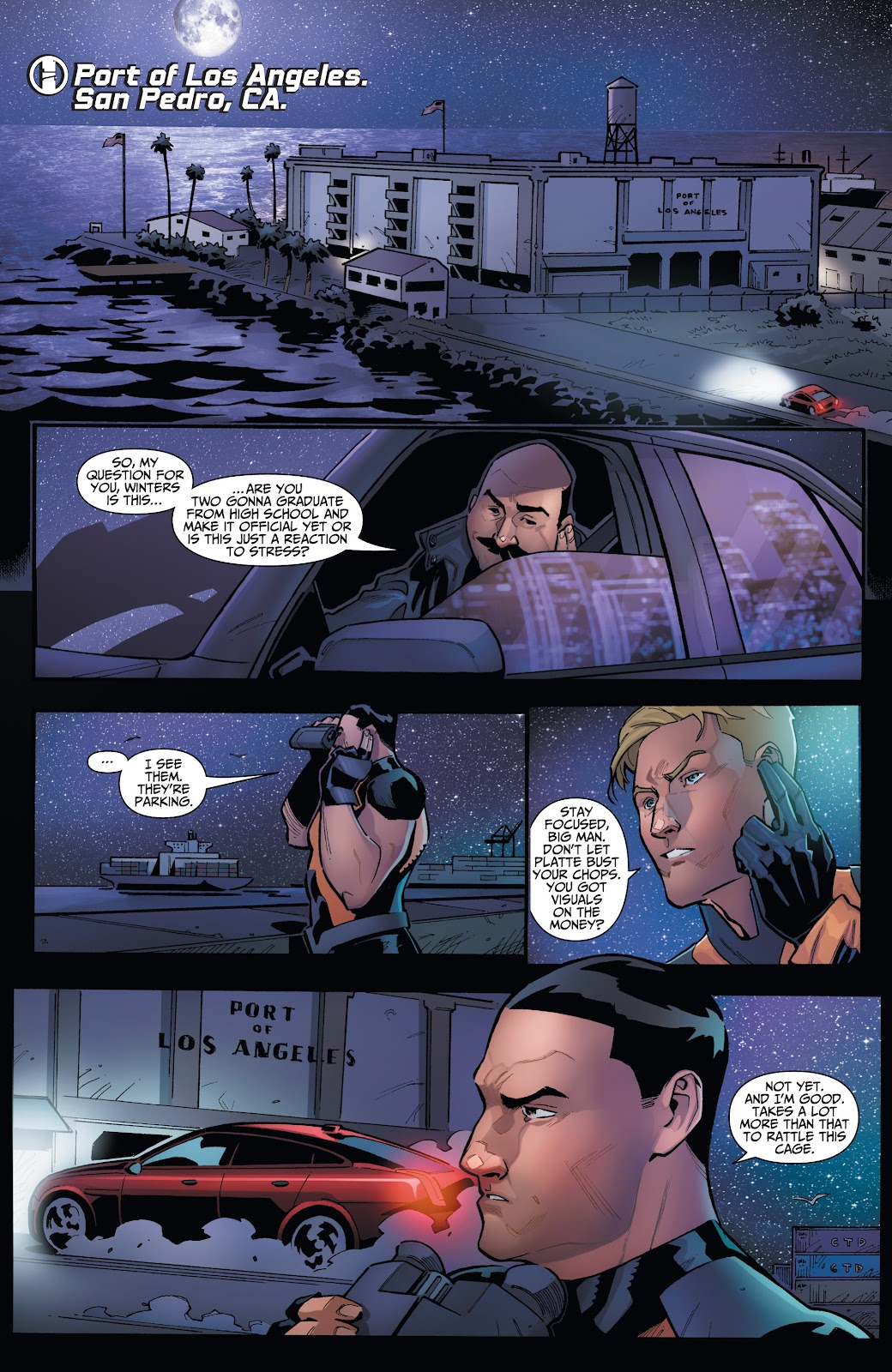 Read online Incidentals comic -  Issue #16 - 4
