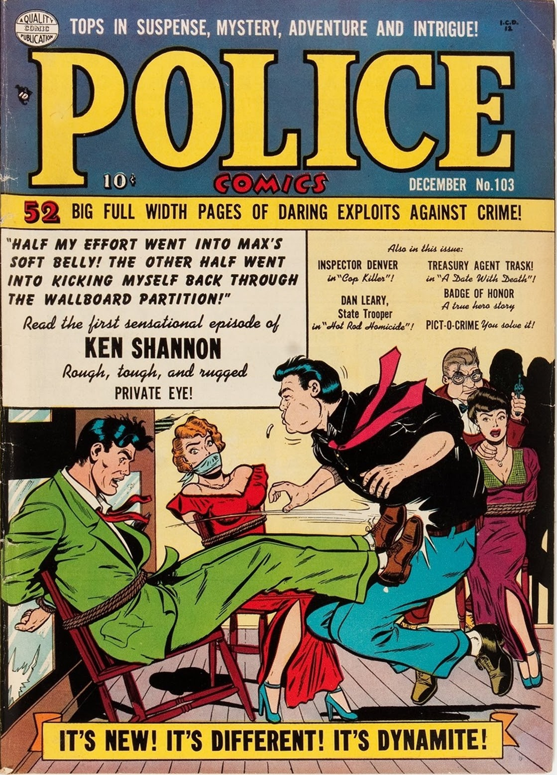 Police Comics 103 Page 1