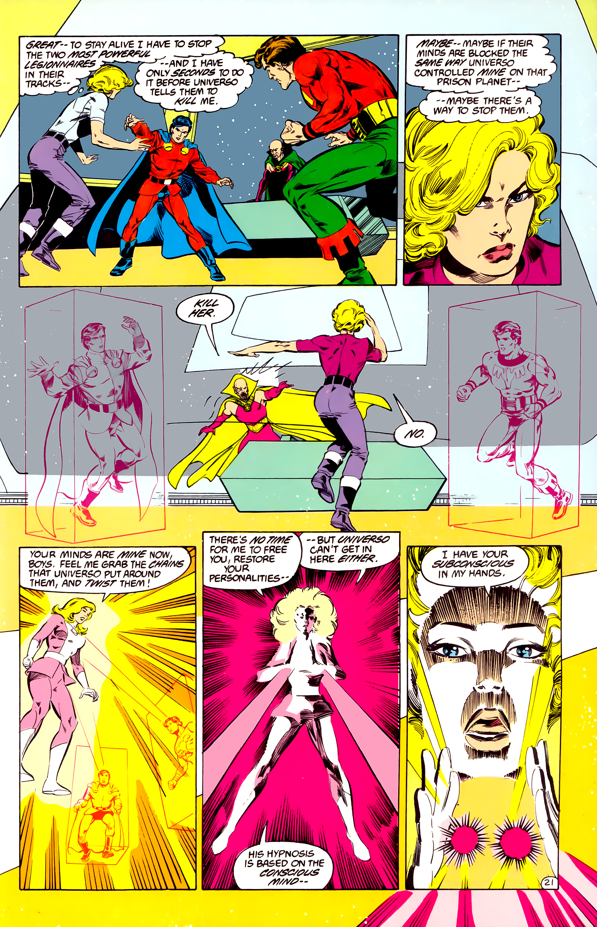 Legion of Super-Heroes (1984) 35 Page 20