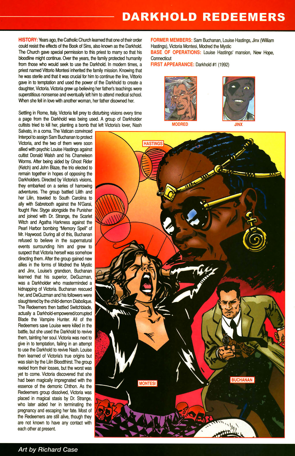 Read online All-New Official Handbook of the Marvel Universe A to Z comic -  Issue #3 - 19