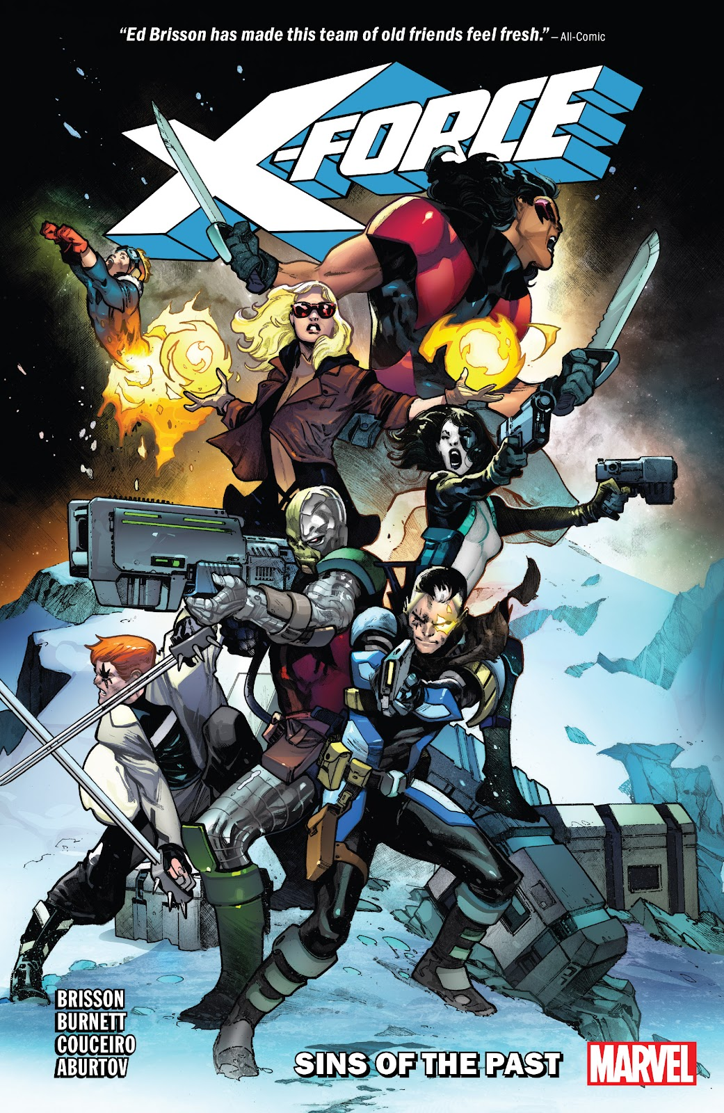 X-Force (2019) issue _TPB_1 - Page 1