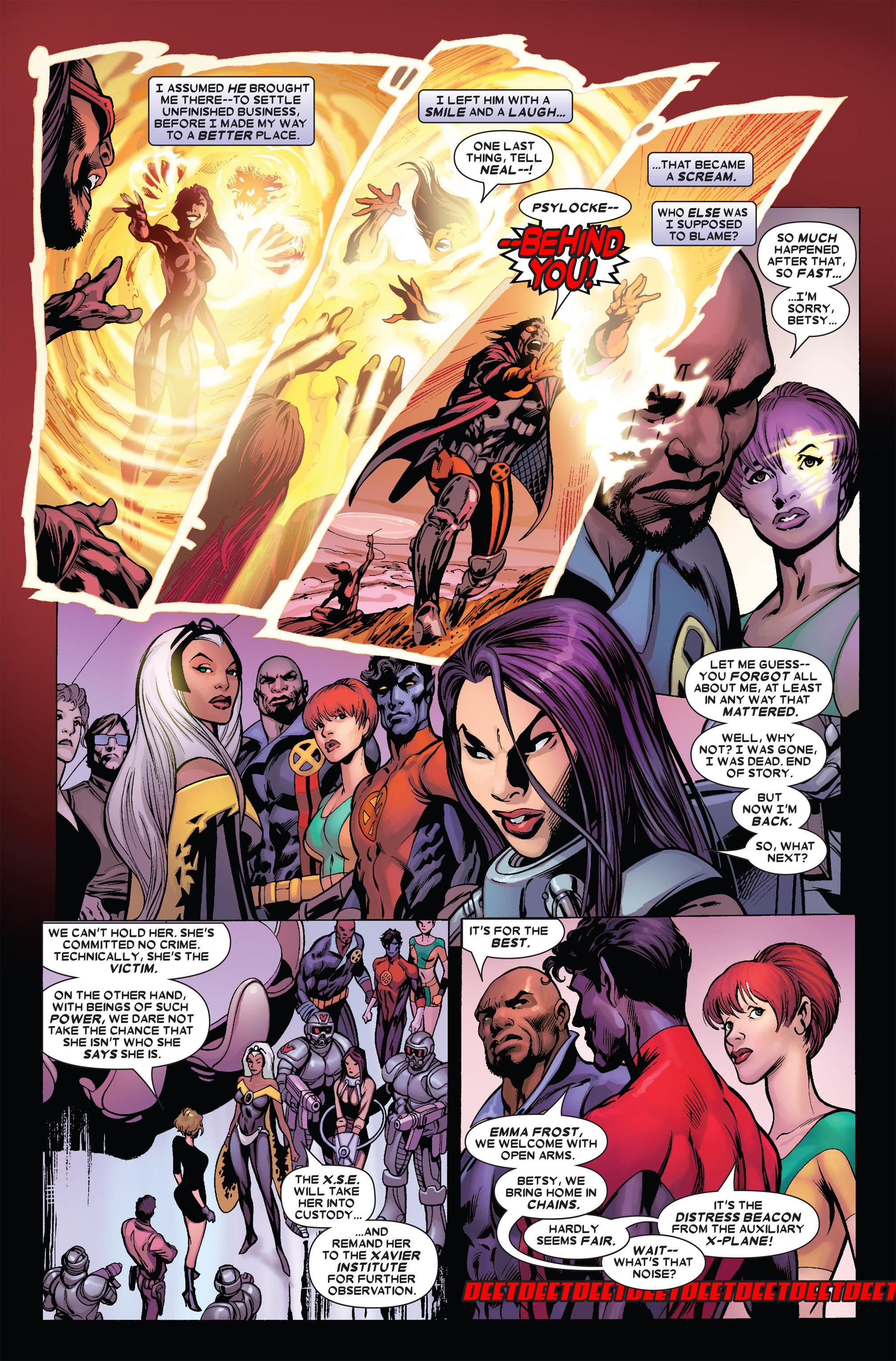 Read online Uncanny X-Men (1963) comic -  Issue #455 - 20