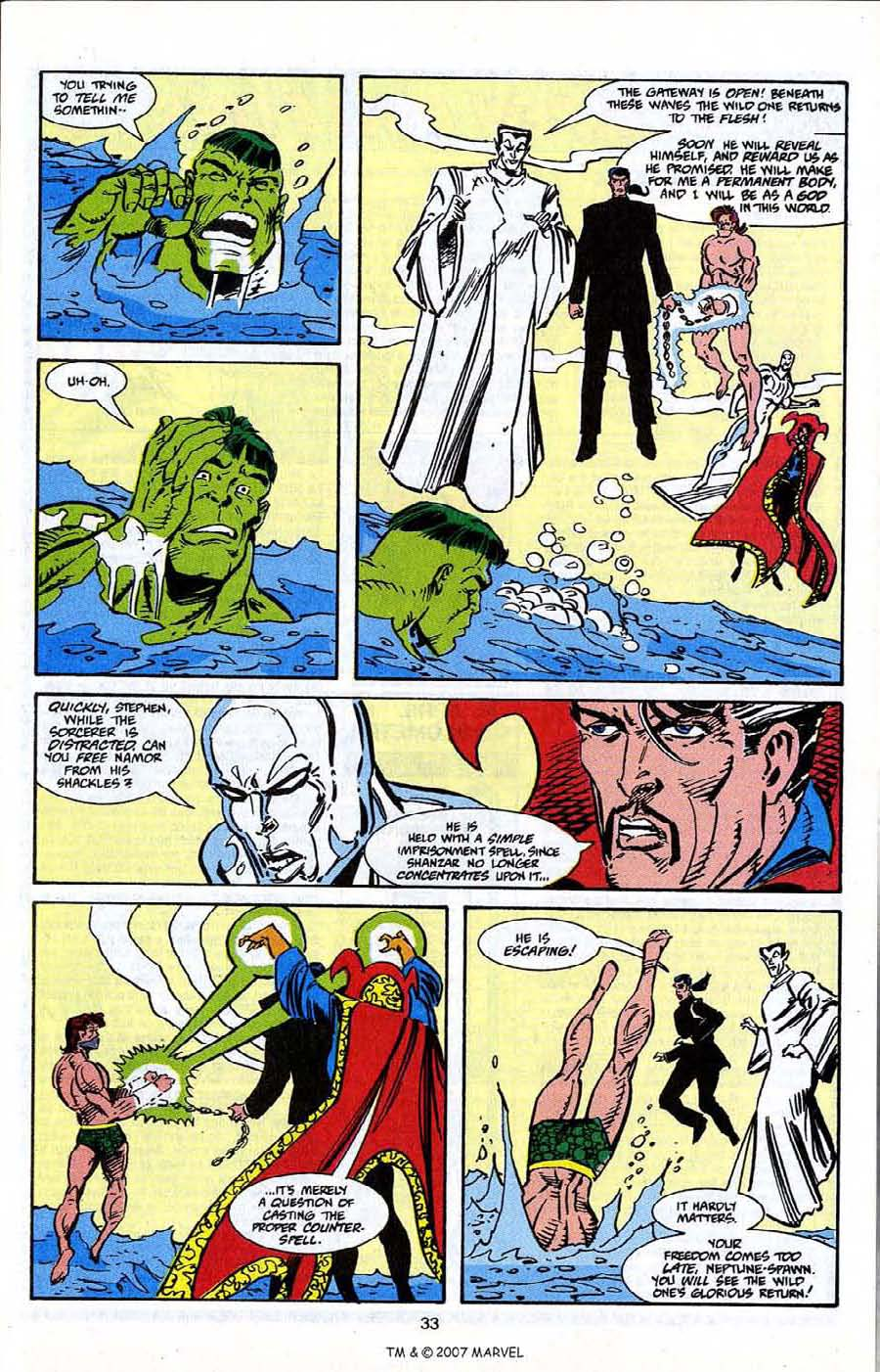 Read online Silver Surfer (1987) comic -  Issue # _Annual 5 - 35