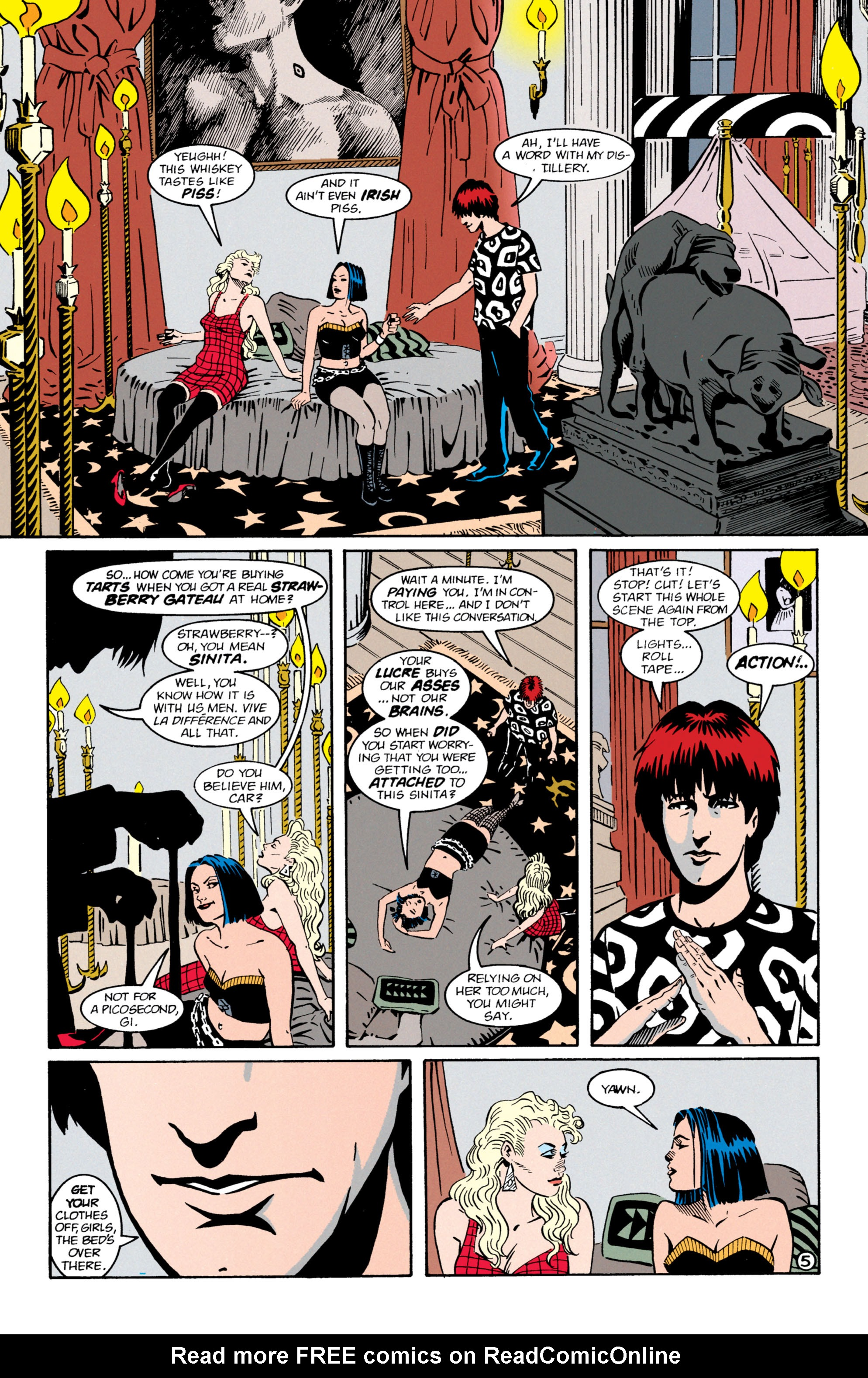 Read online Shade, the Changing Man comic -  Issue #64 - 6