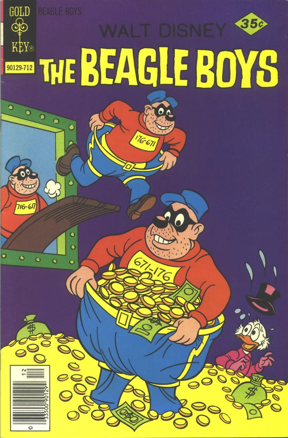 Walt Disney THE BEAGLE BOYS issue 39 - Page 1