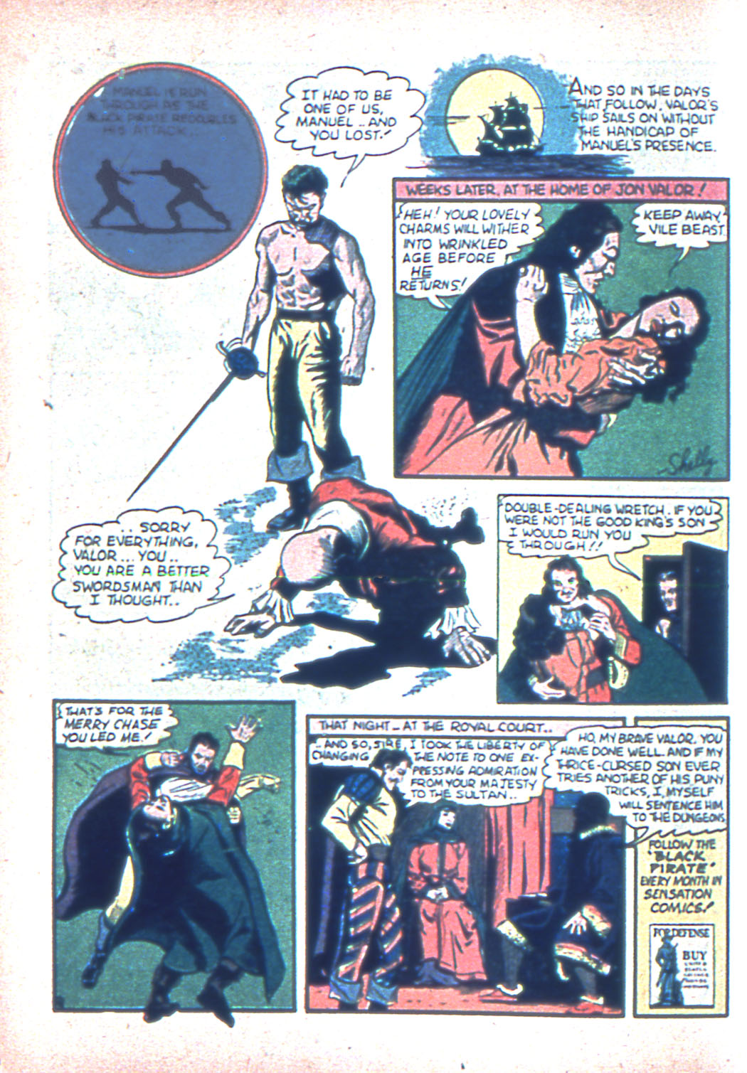 Read online Sensation (Mystery) Comics comic -  Issue #2 - 24