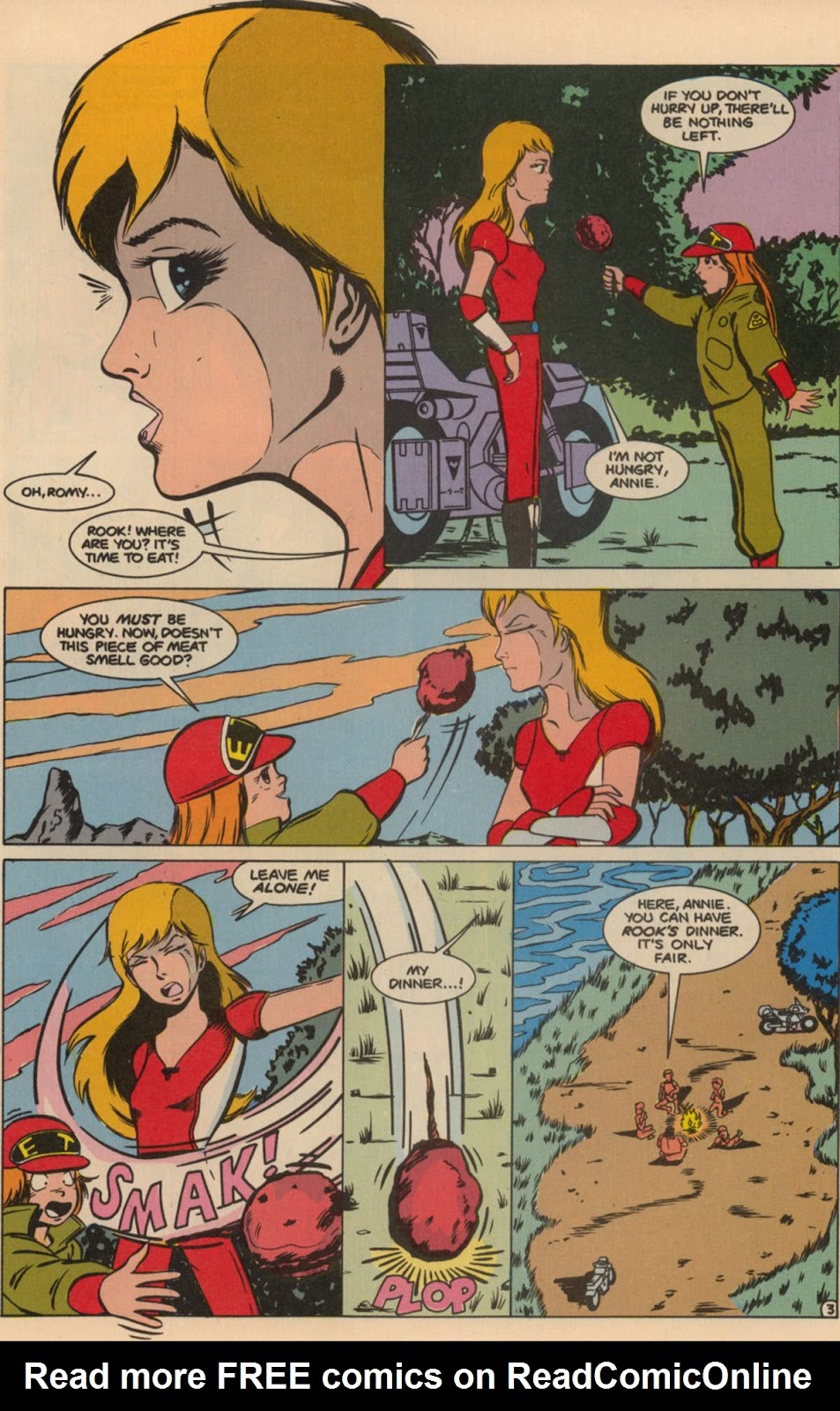 Robotech The New Generation issue 6 - Page 5