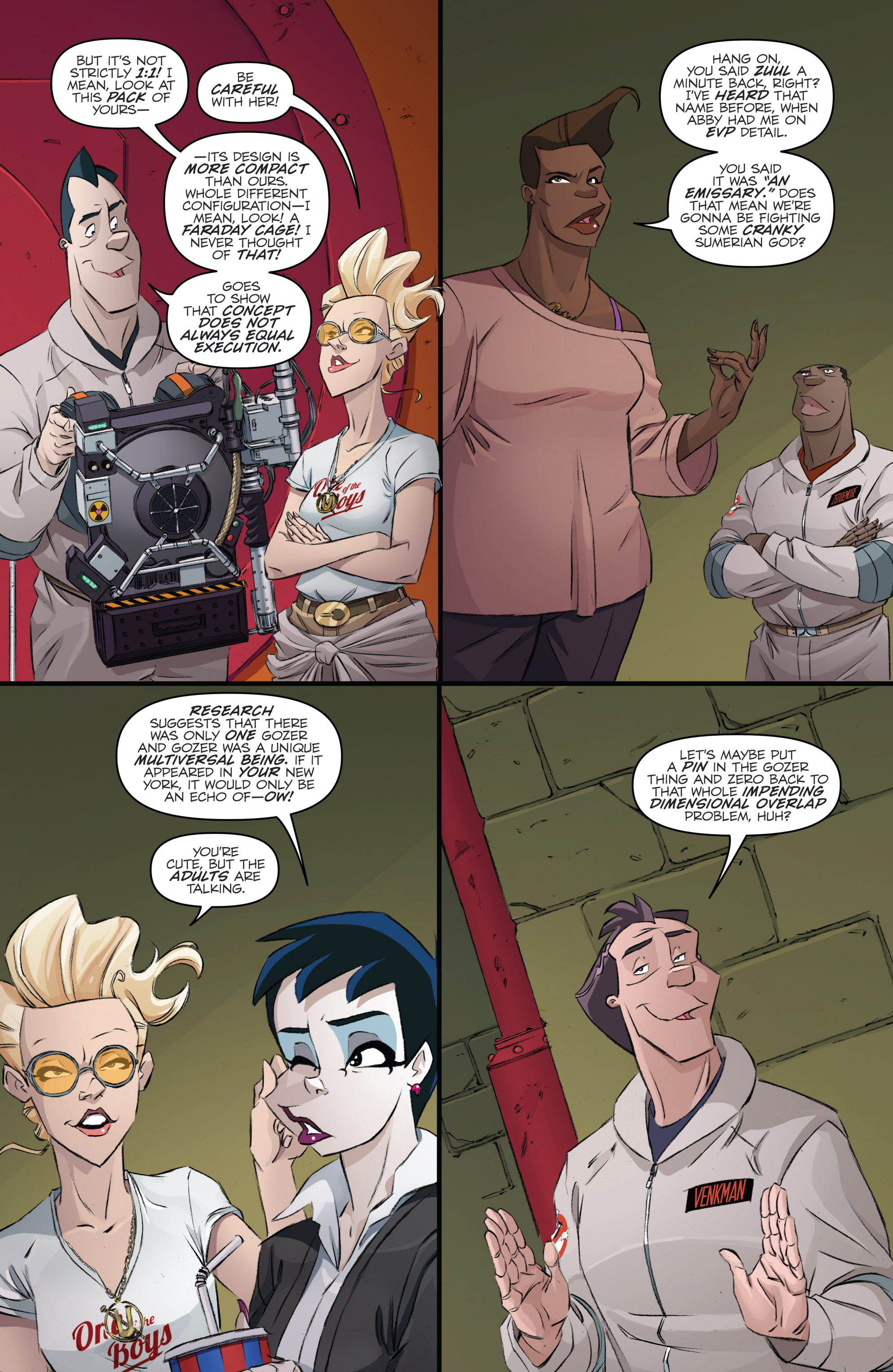 Read online Ghostbusters 101 comic -  Issue #3 - 24