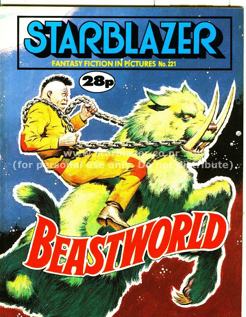 Starblazer issue 221 - Page 1