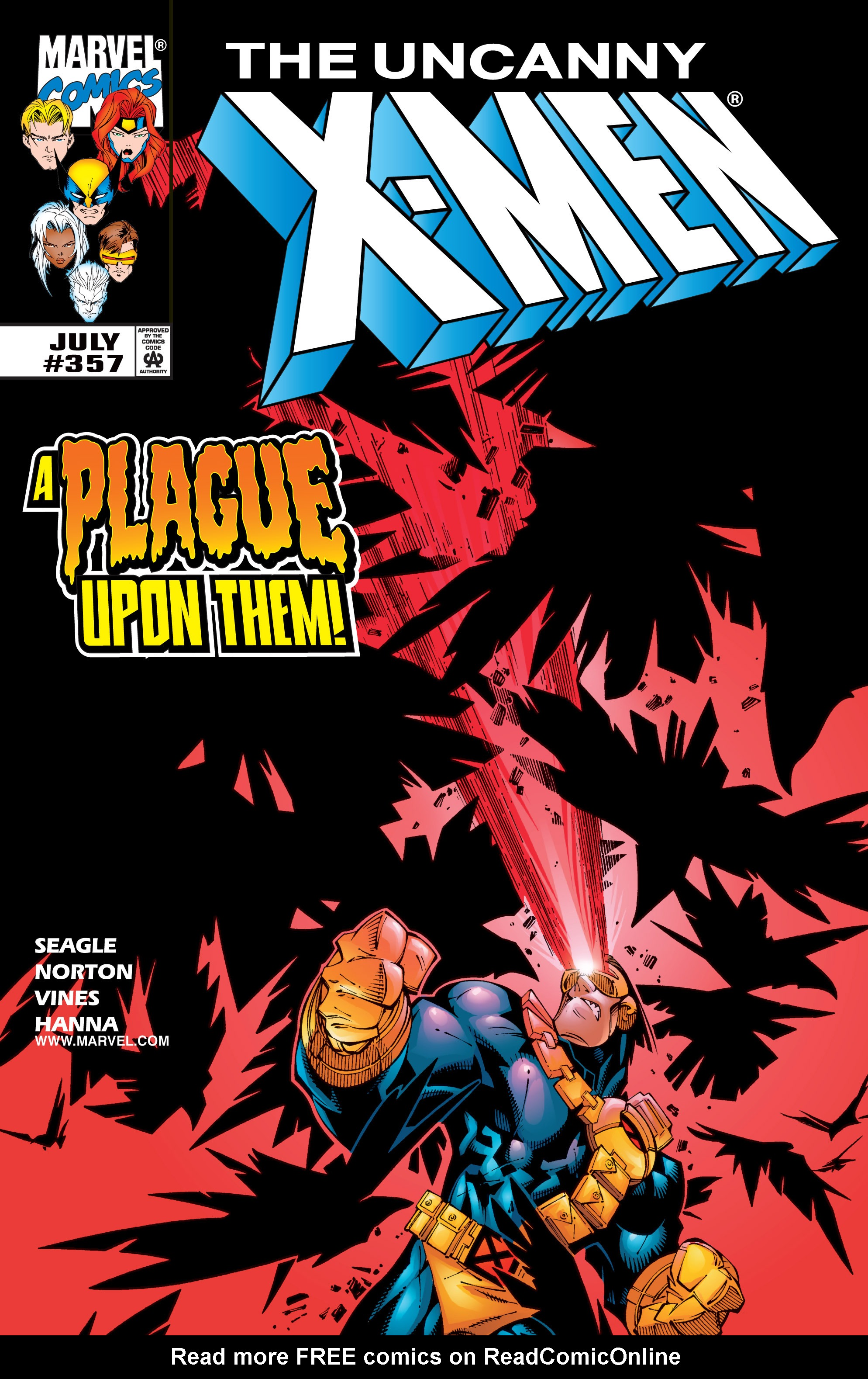Read online Uncanny X-Men (1963) comic -  Issue #357 - 1