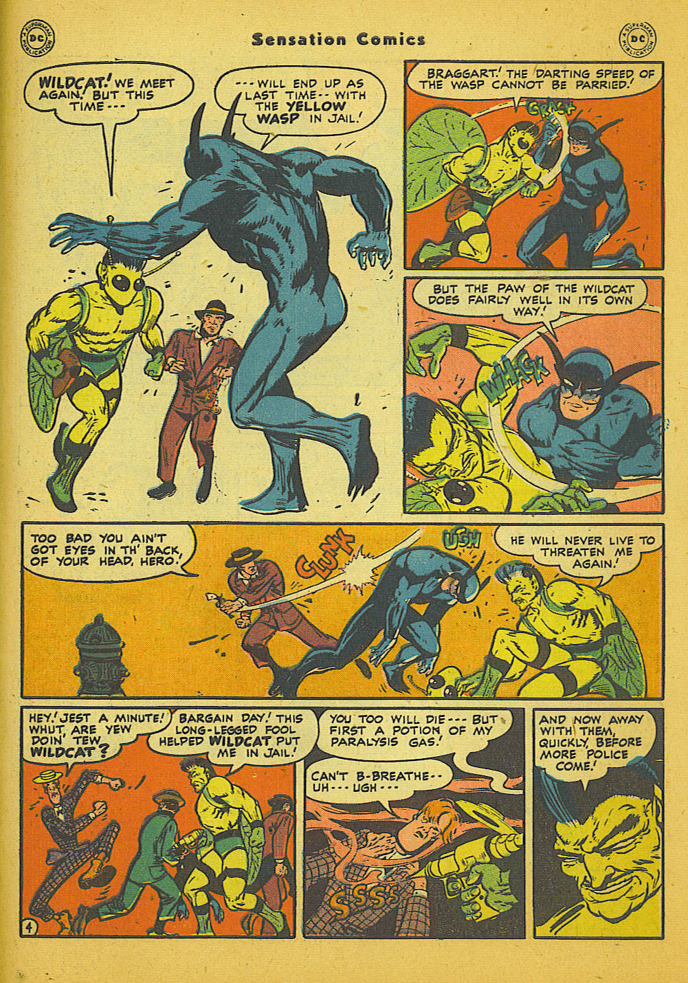 Read online Sensation (Mystery) Comics comic -  Issue #66 - 45