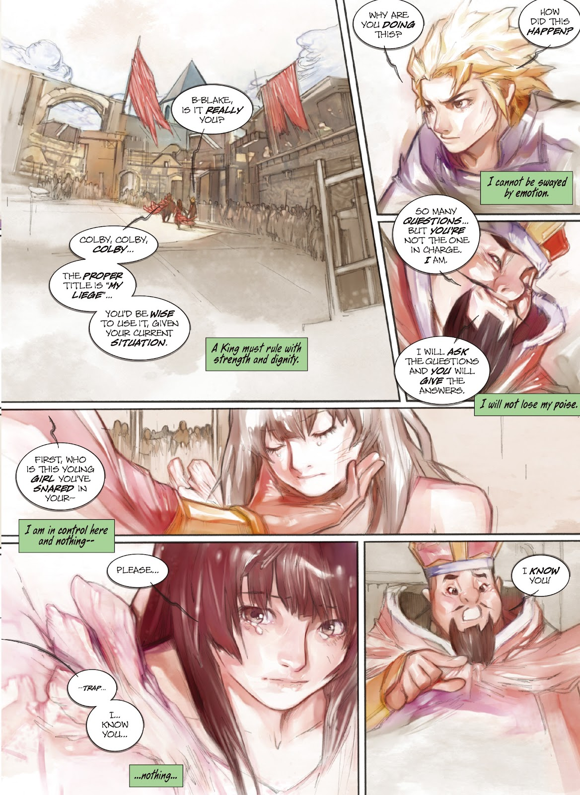 Read online Makeshift Miracle: The Girl From Nowhere comic -  Issue #11 - 12