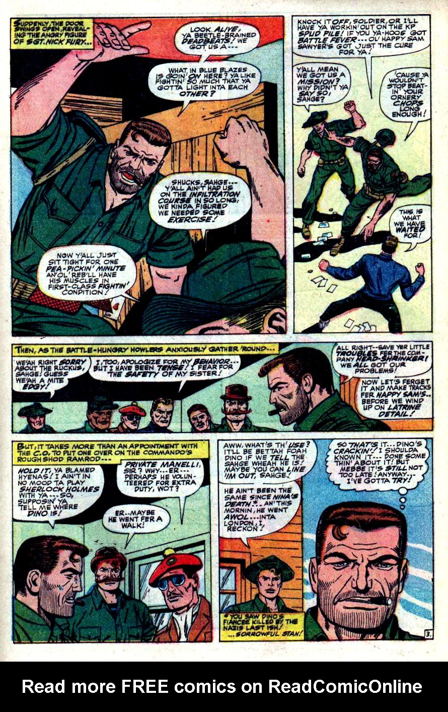 Read online Sgt. Fury comic -  Issue #42 - 5
