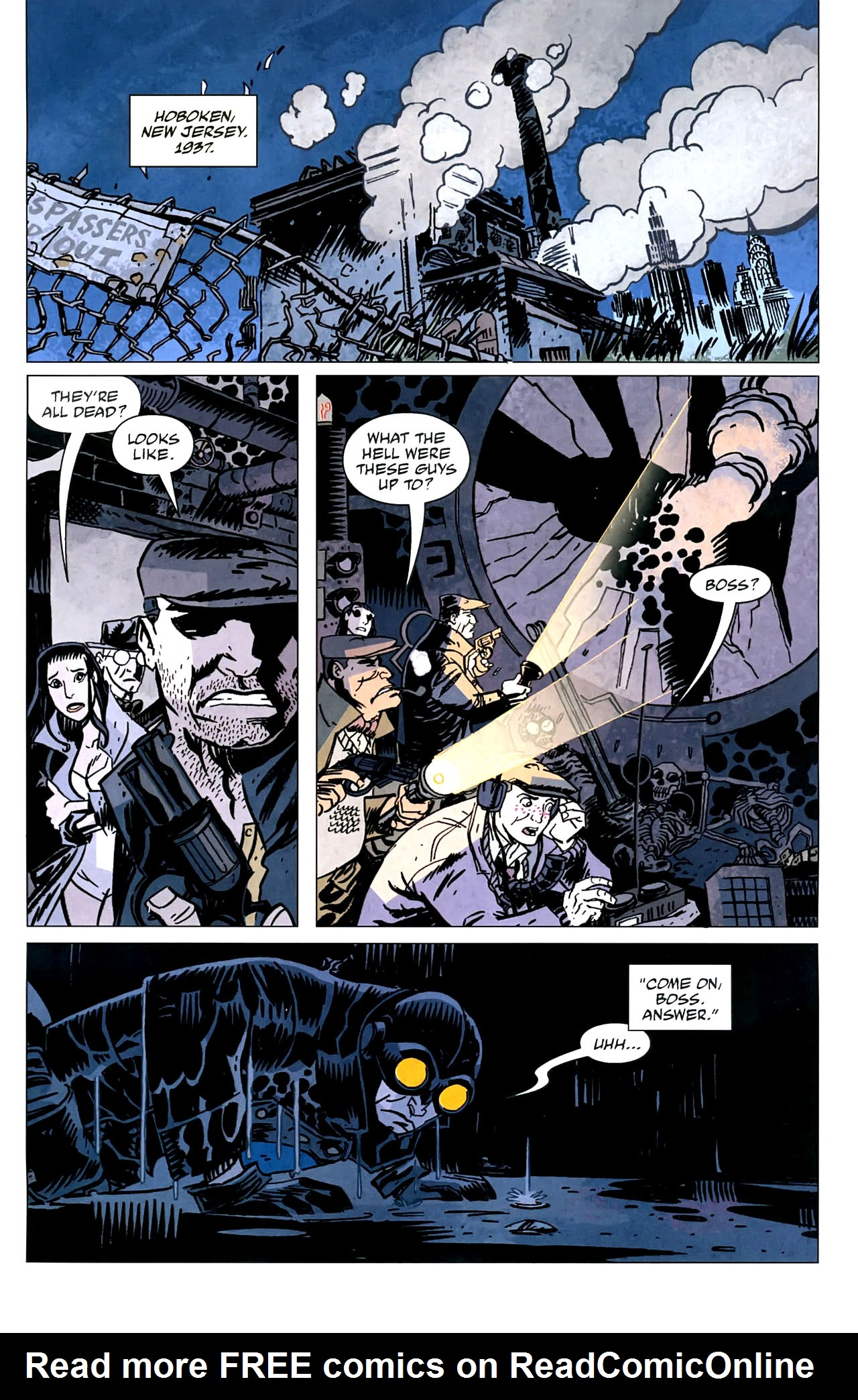 Read online Lobster Johnson: The Iron Prometheus comic -  Issue #5 - 3